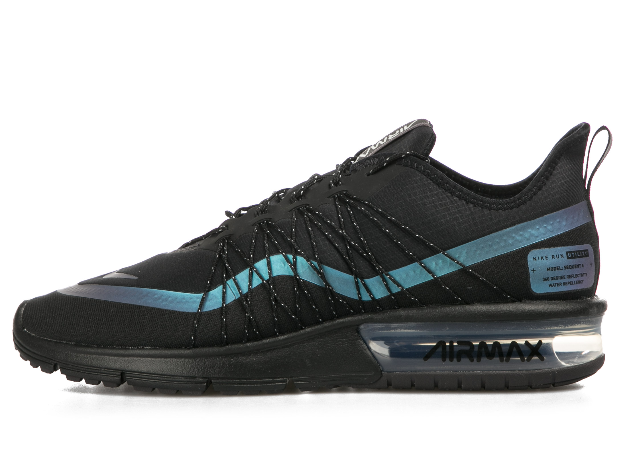 NIKE AIR MAX SEQUENT 4 SHIELD «THROWBACK FUTURE» AV3236-005 Μαύρο