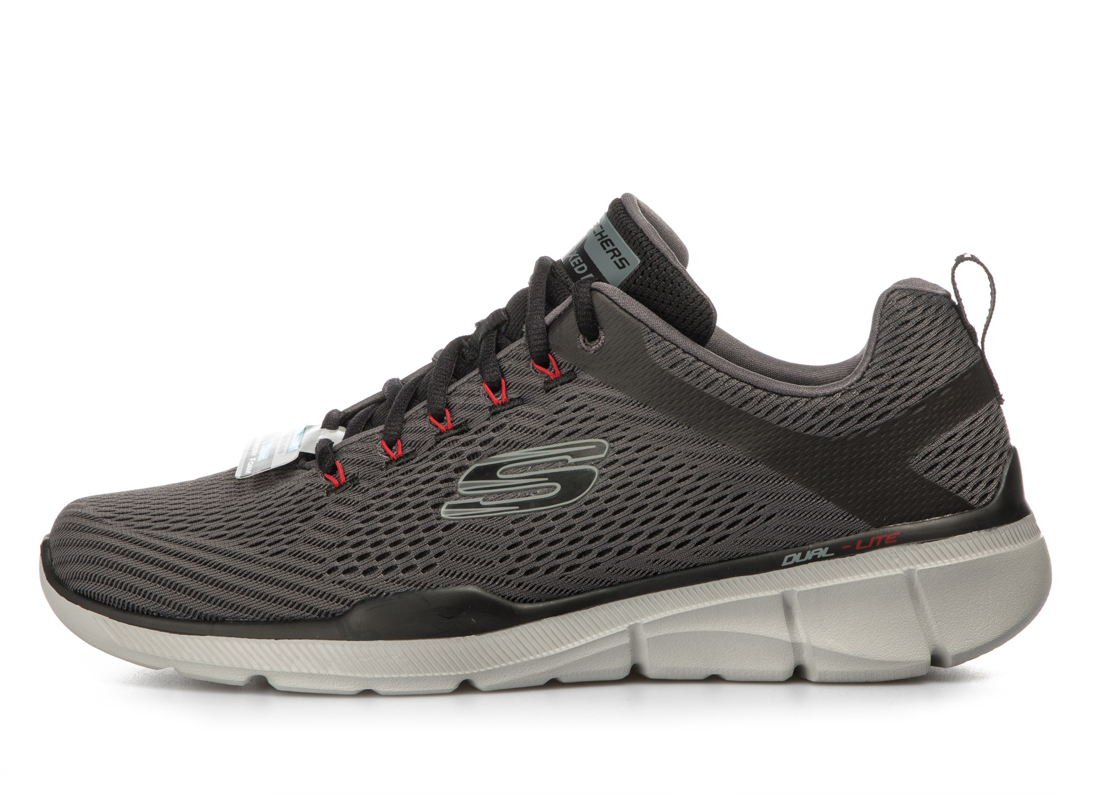 SKECHERS RELAXED FIT – EQUALIZER 3.0 52927-CCBK Γκρί