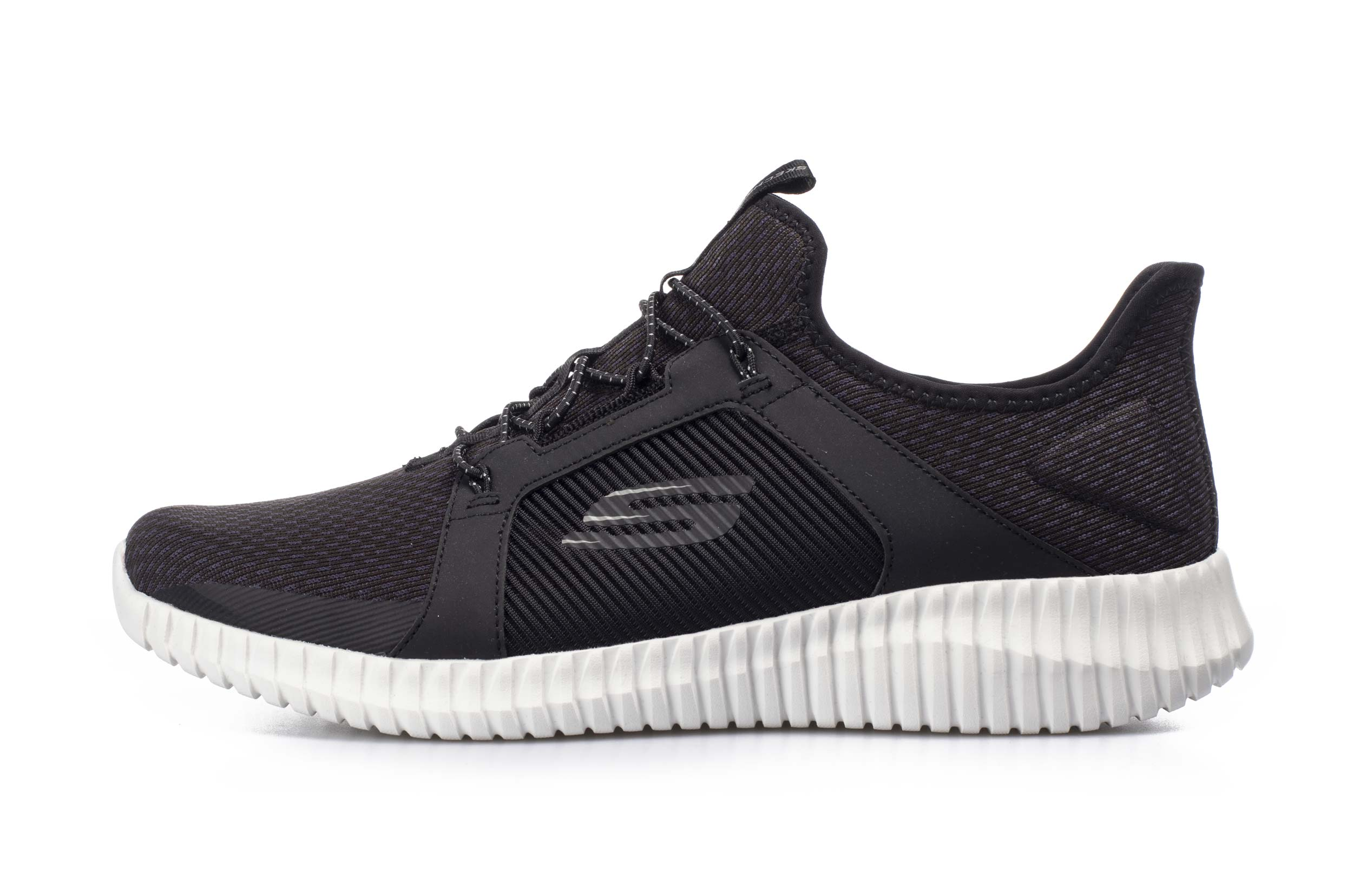 SKECHERS BITE FLEX 52640-BKW Μαύρο