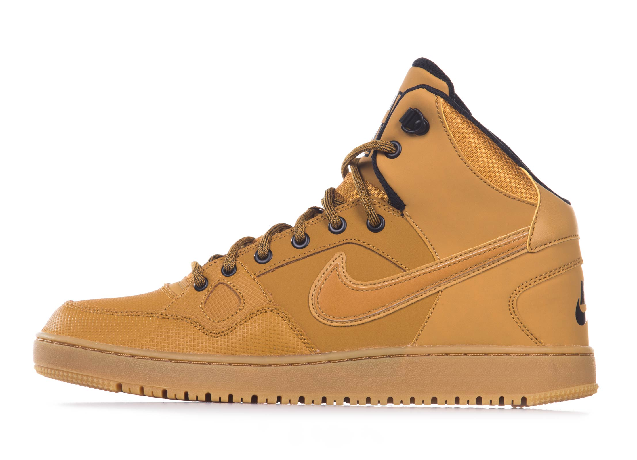 NIKE SON OF FORCE MID 807242 Μουσταρδί
