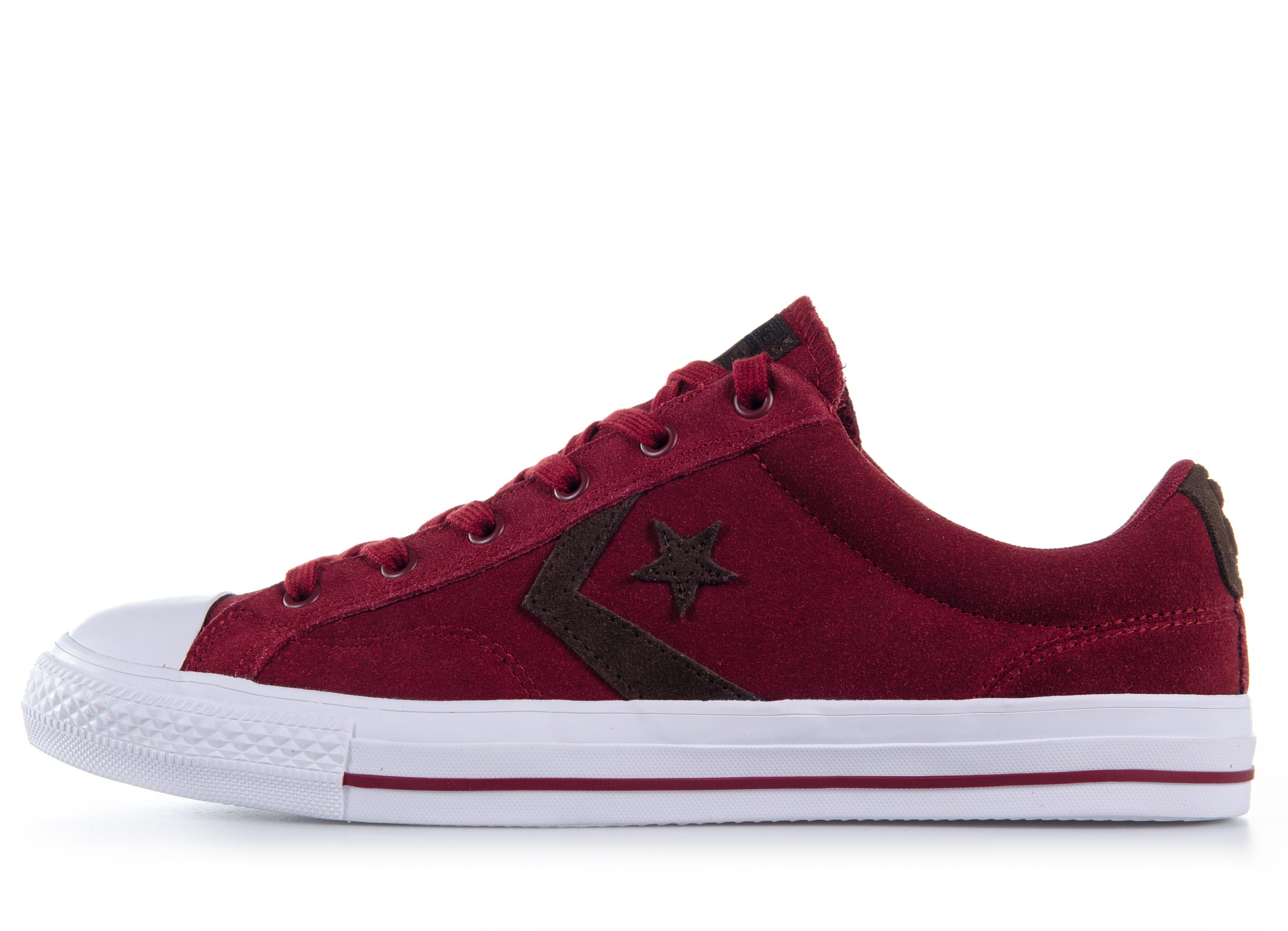 Converse Star Player Suede 153756C Μπορντό