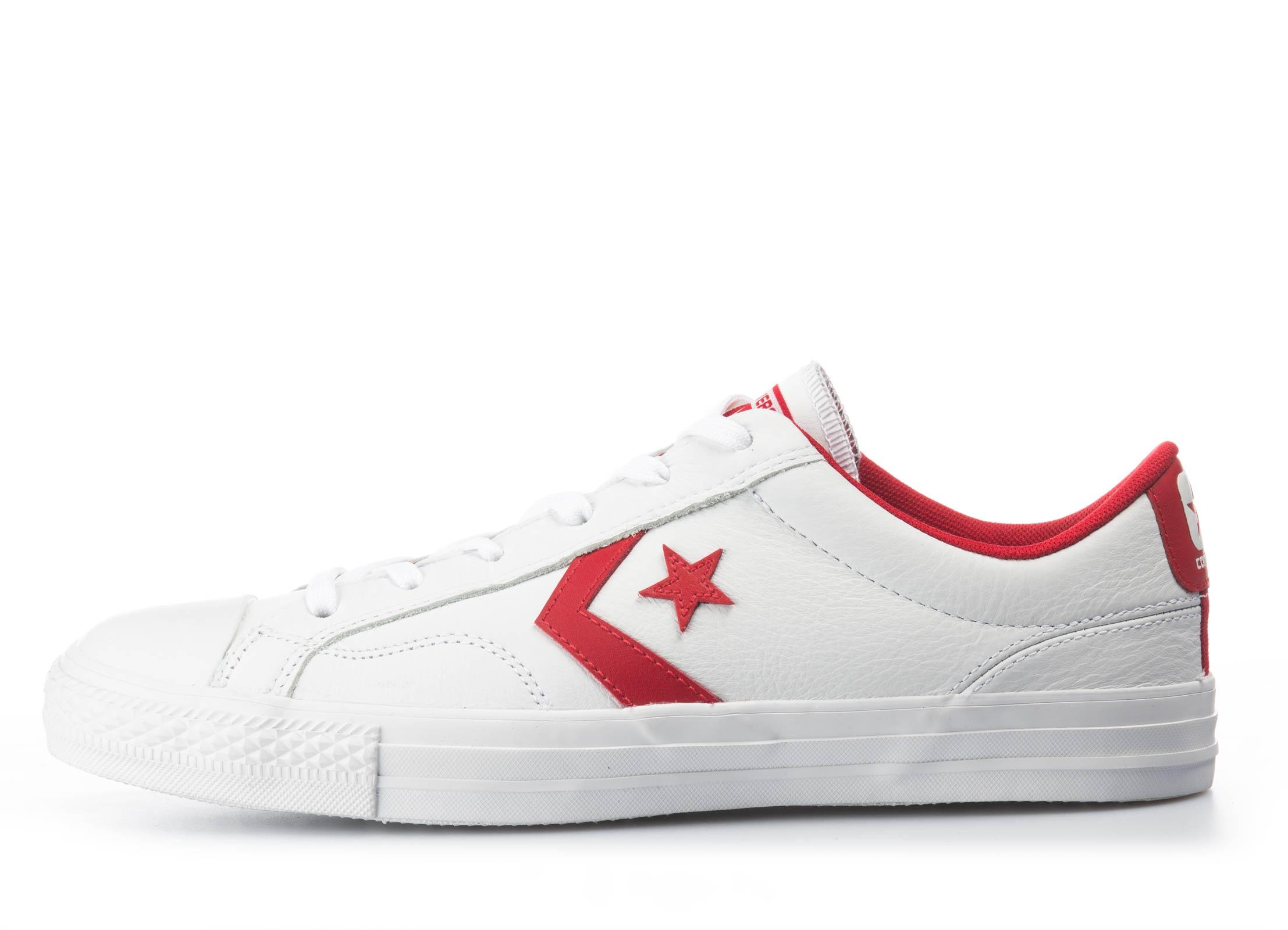 Converse Star Player Ox 159739C Λευκό