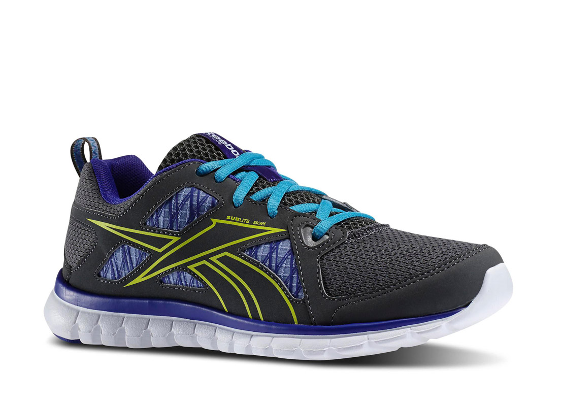adc6a3b1a1 RUNNING Reebok SUBLITE ESCAPE M44448 Ανθρακί