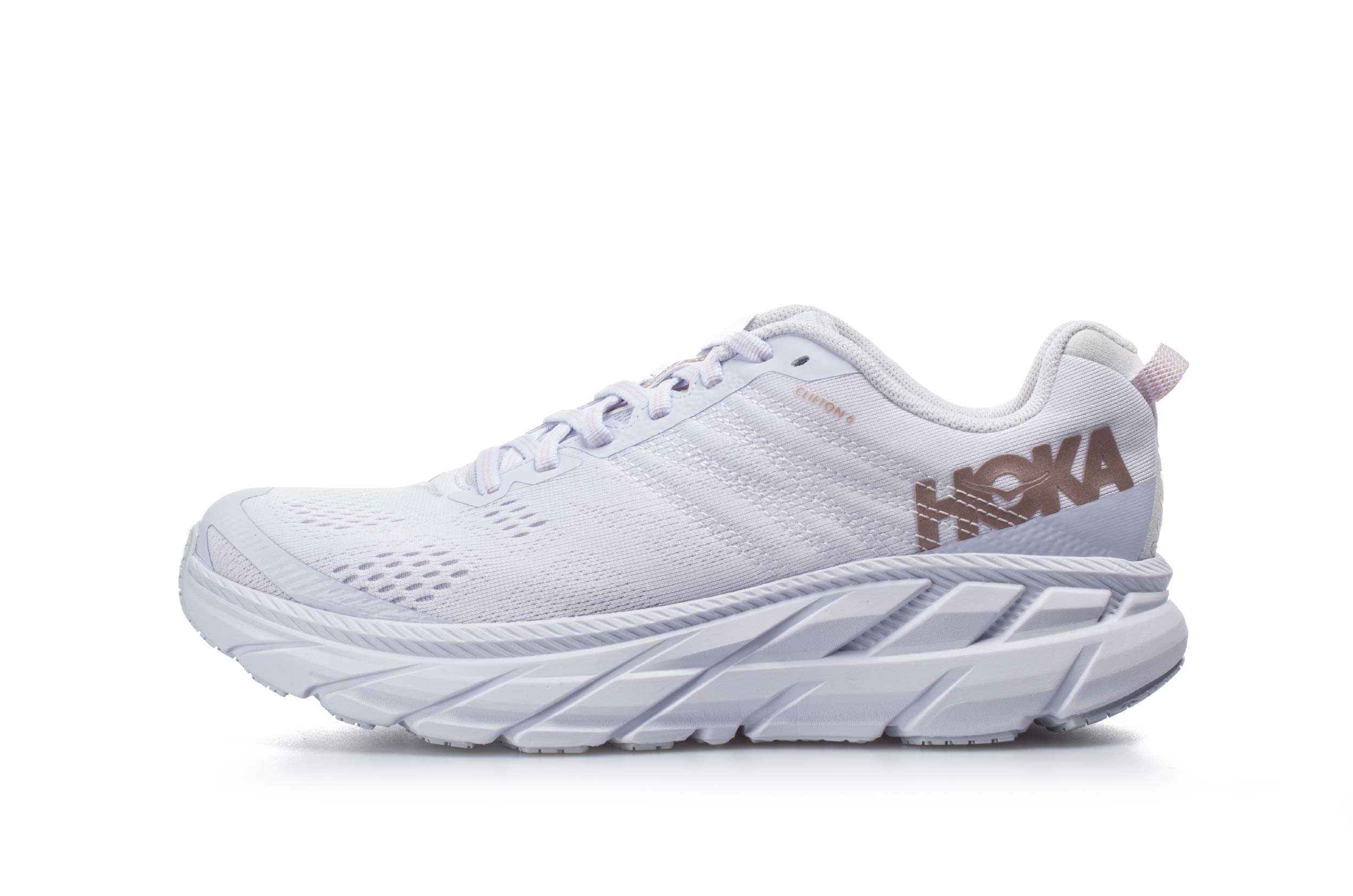 HOKA ONE ONE GLIDE CLIFTON 6 1102873-WRGL Λευκό