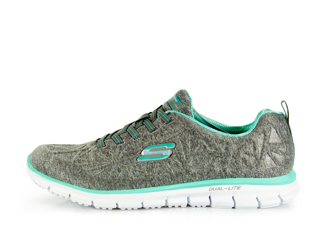 RUNNING SKECHERS 22723 Γκρί
