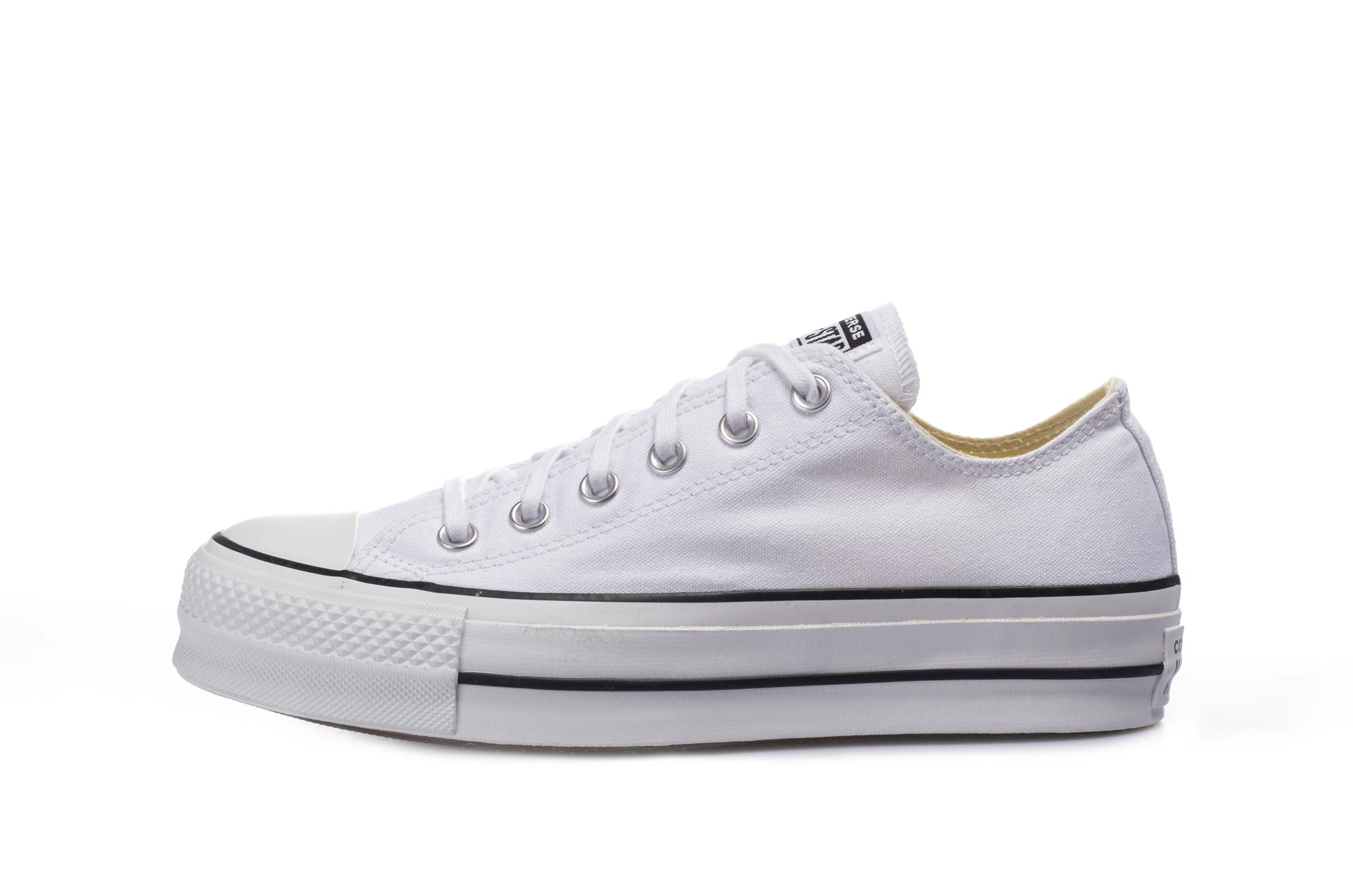 Converse CHUCK TAYLOR ALL STAR PLATFORM LOW TOP 560251C Λευκό