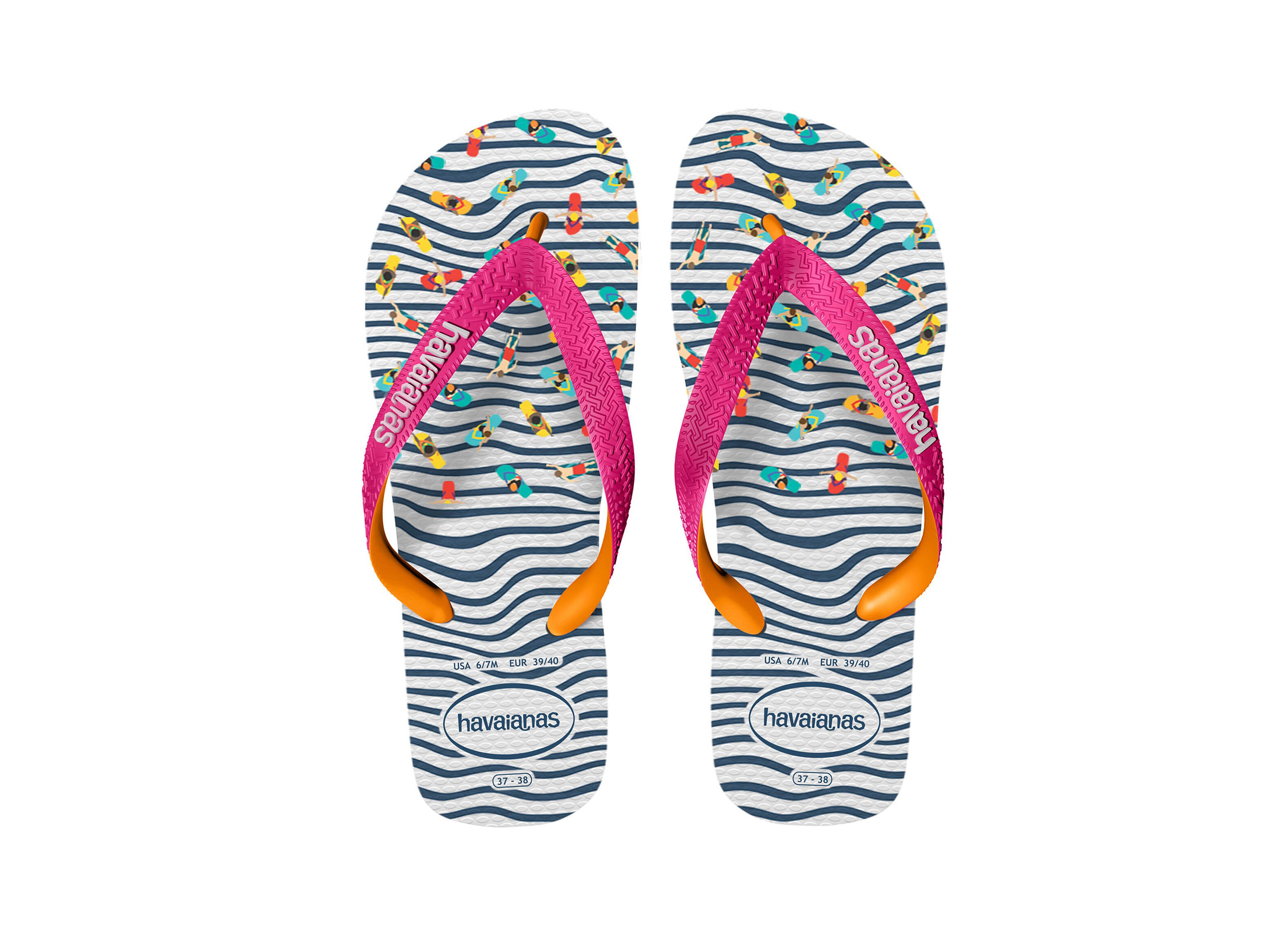 HAVAIANAS TOP FASHION 4137258-0555 Μπλε