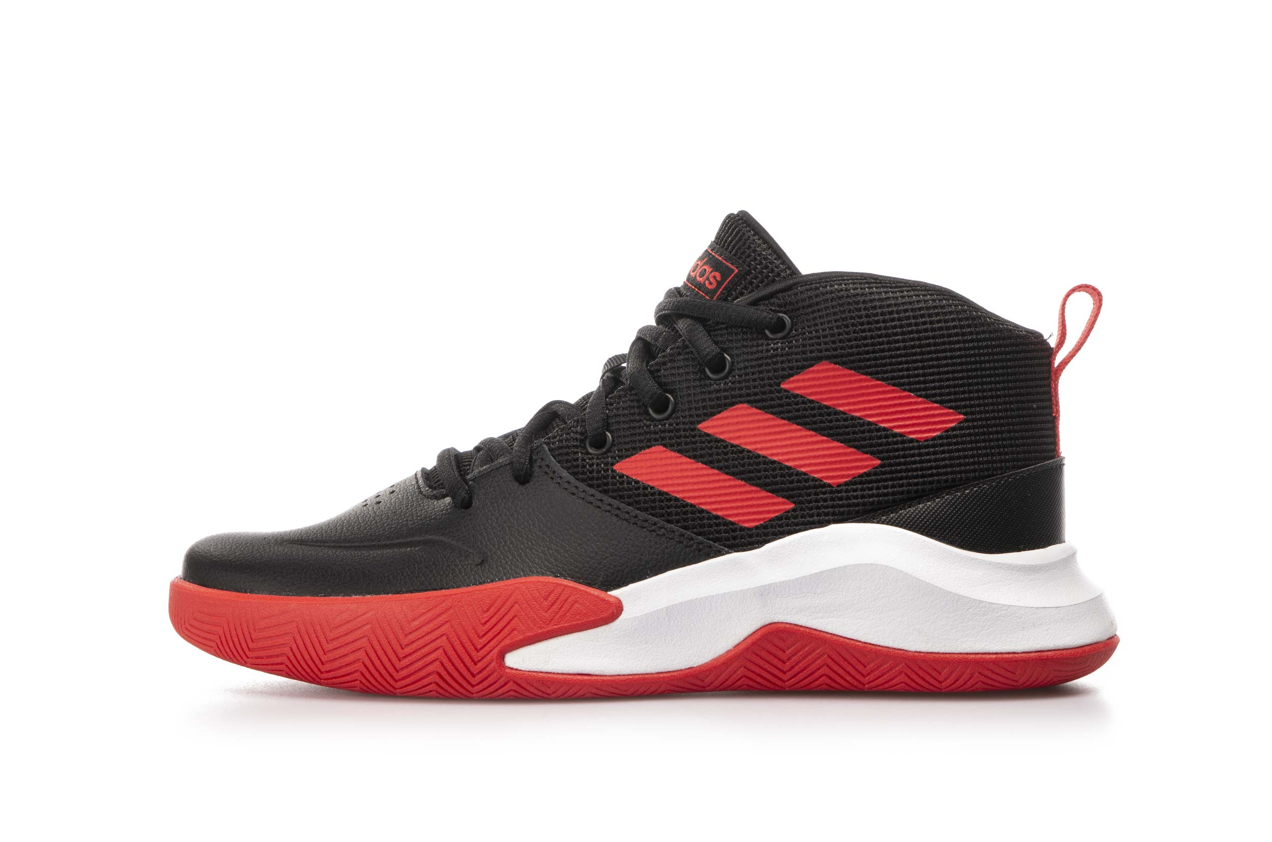 adidas Performance OWNTHEGAME K WIDE EF0309 Μαύρο
