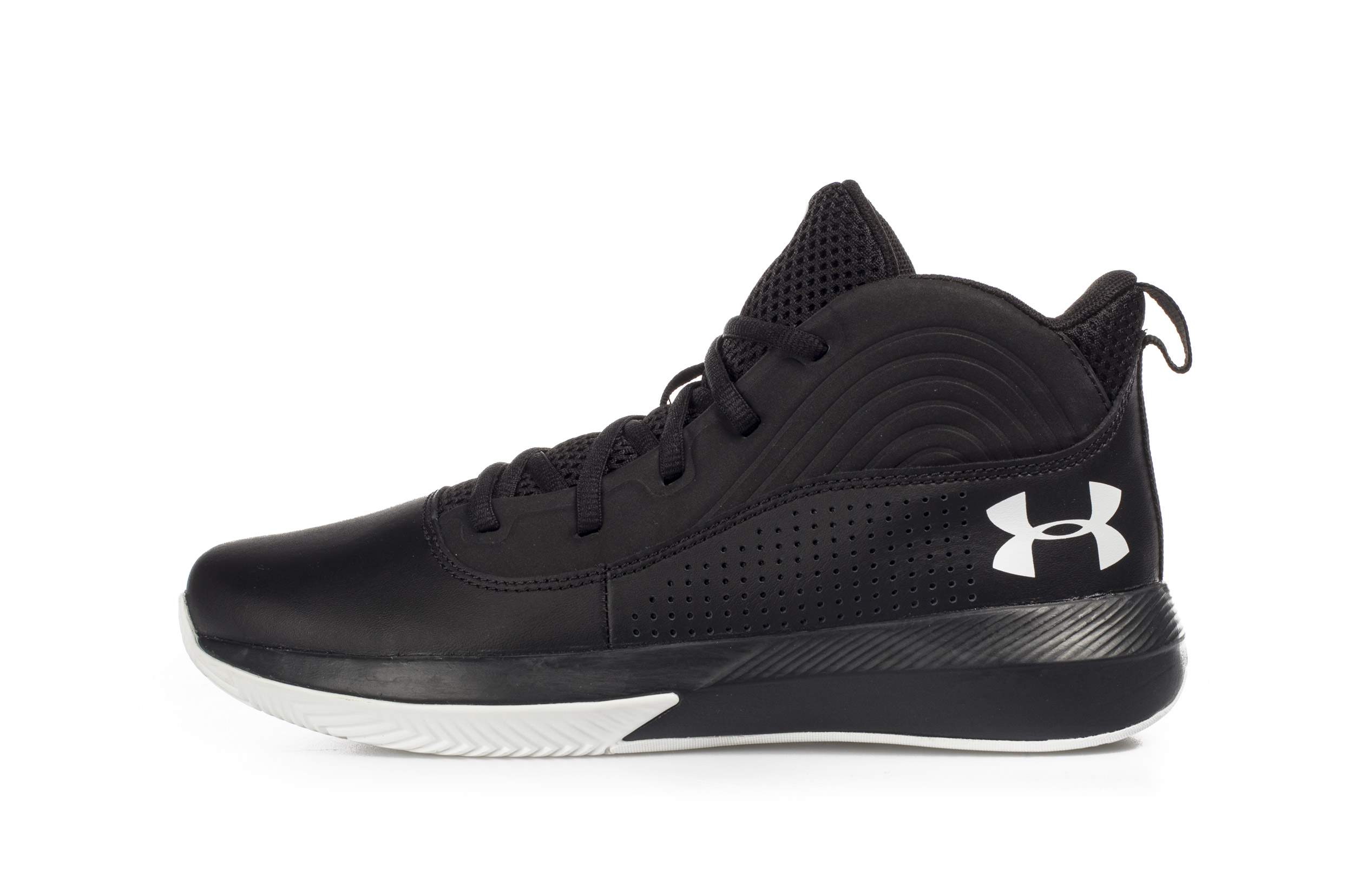 UNDER ARMOUR GS LOCKDOWN 4 3022123-001 Μαύρο