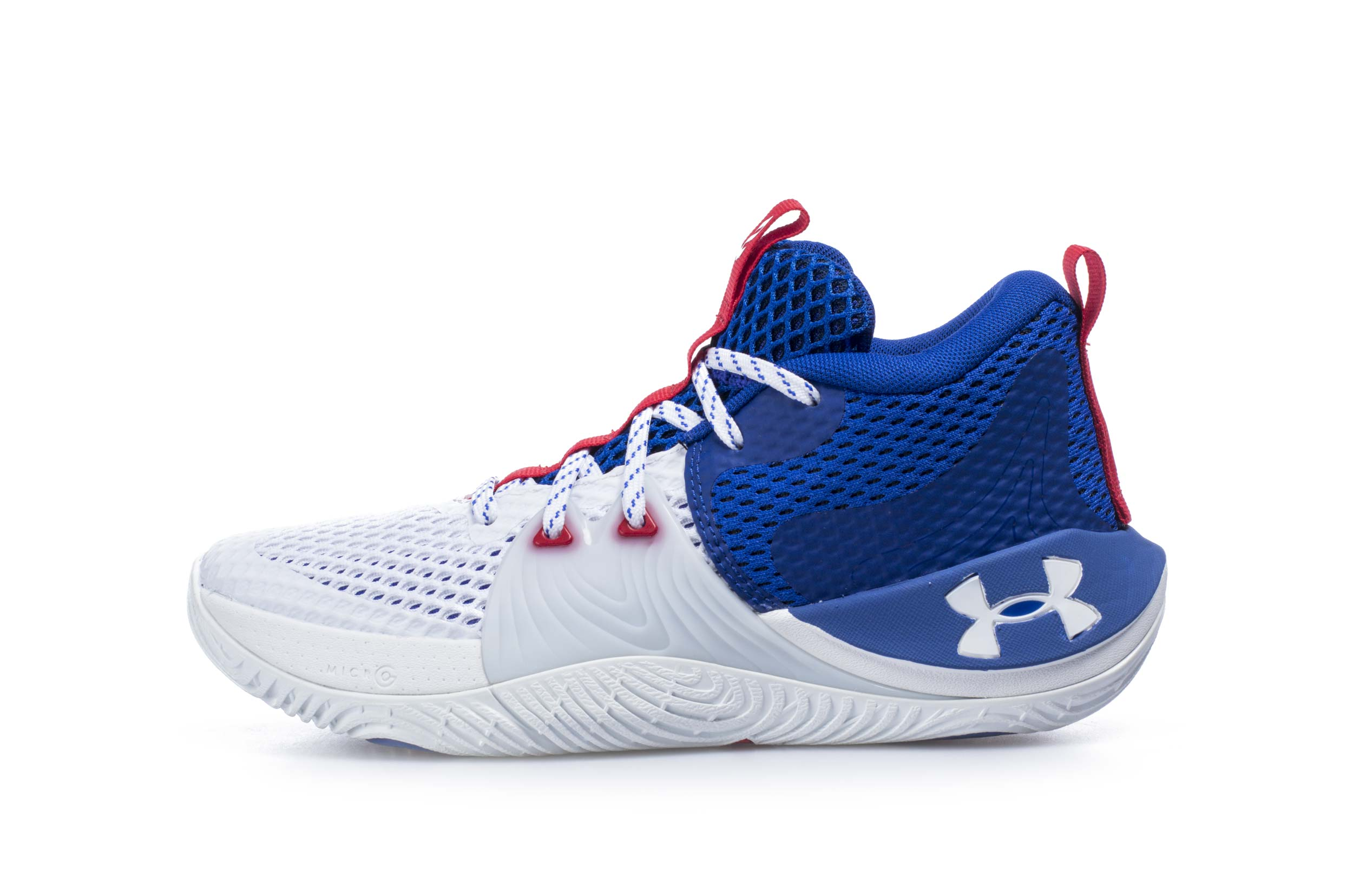 UNDER ARMOUR EMBIID 1 GS BROTHERLY LOVE 3023529-107 Λευκό