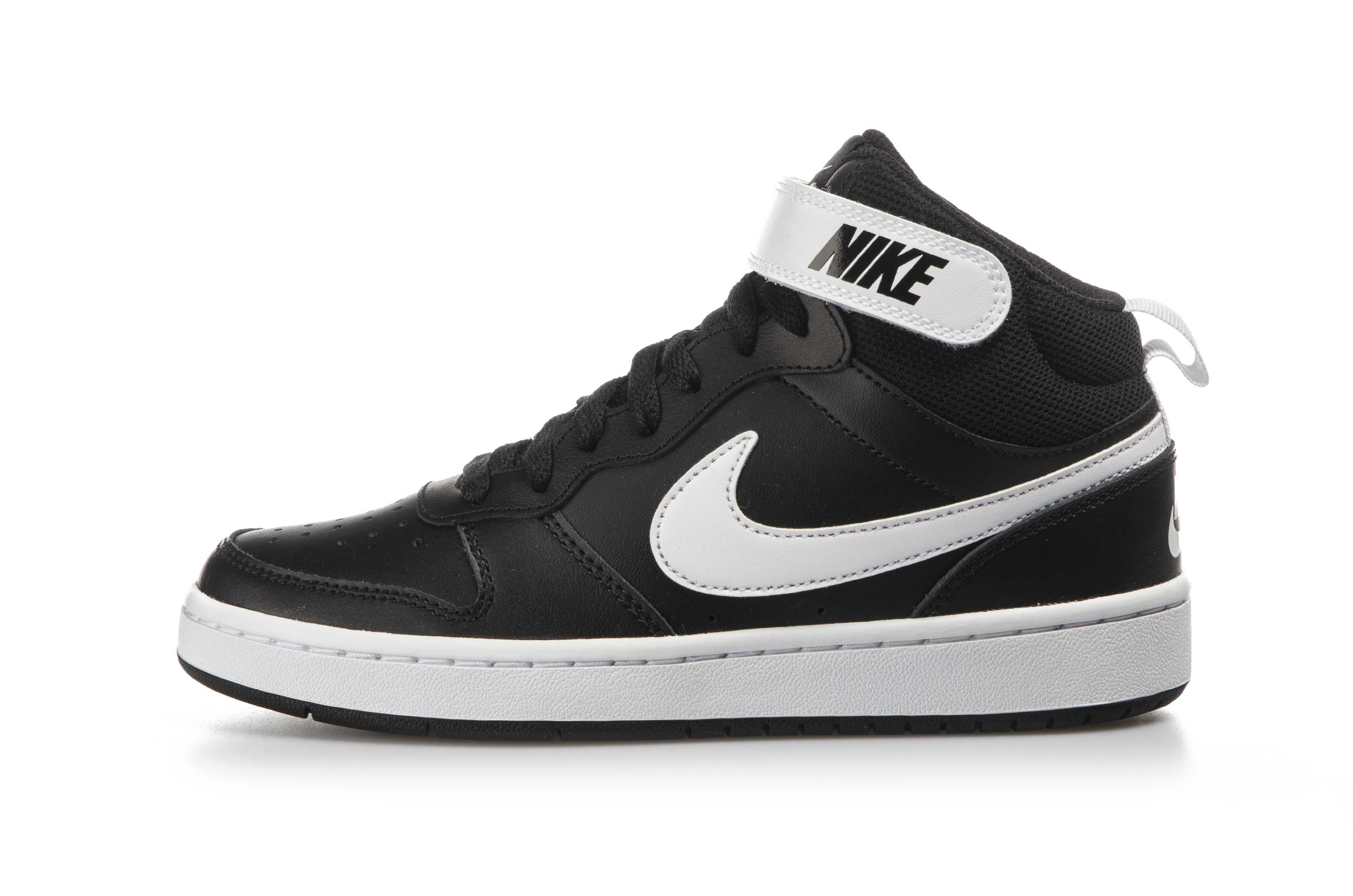 NIKE COURT BOROUGH MID 2 CD7782-010 Μαύρο