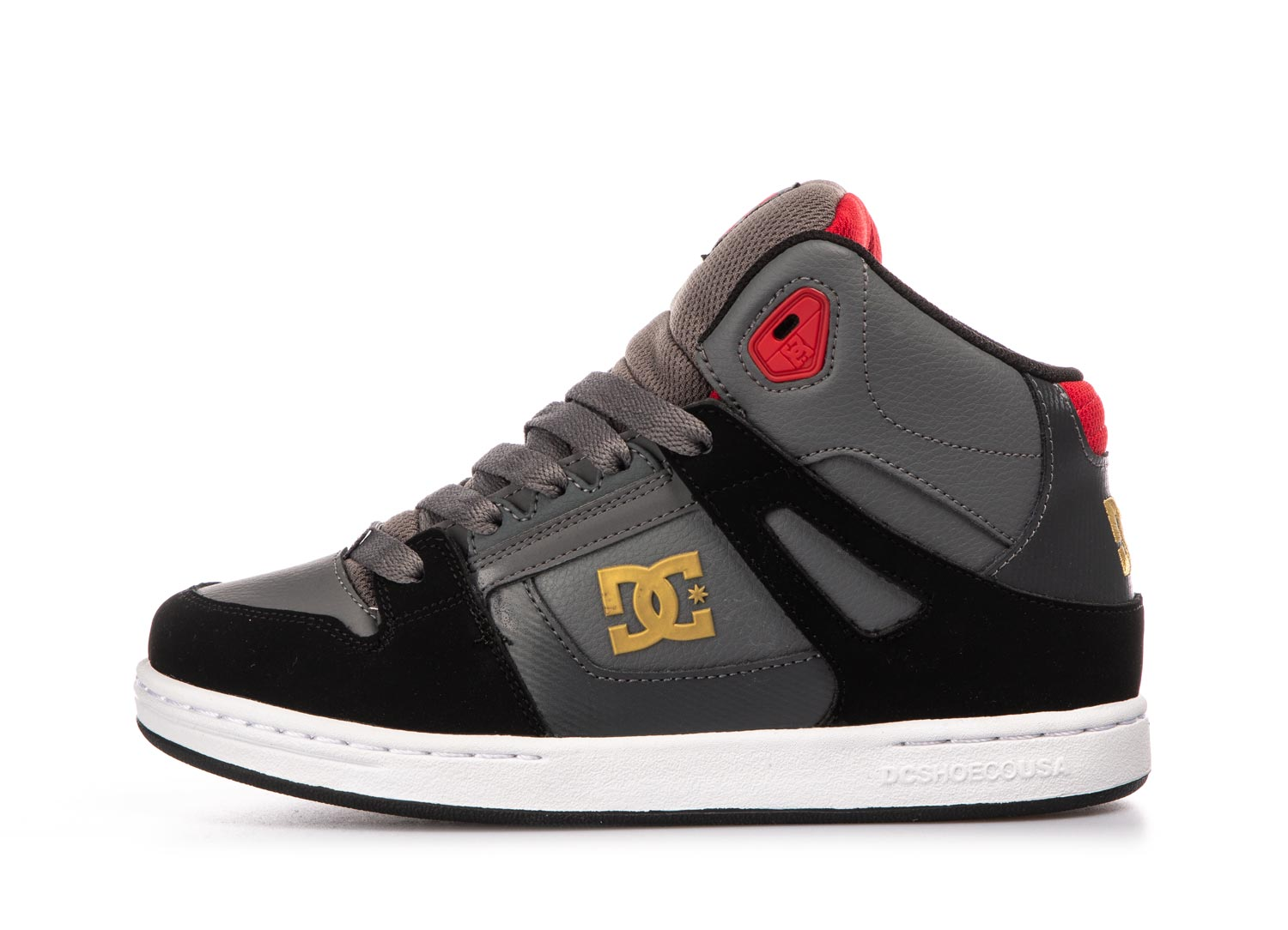 DC PURE HIGH-TOP ADBS100242-XSKR Γκρί
