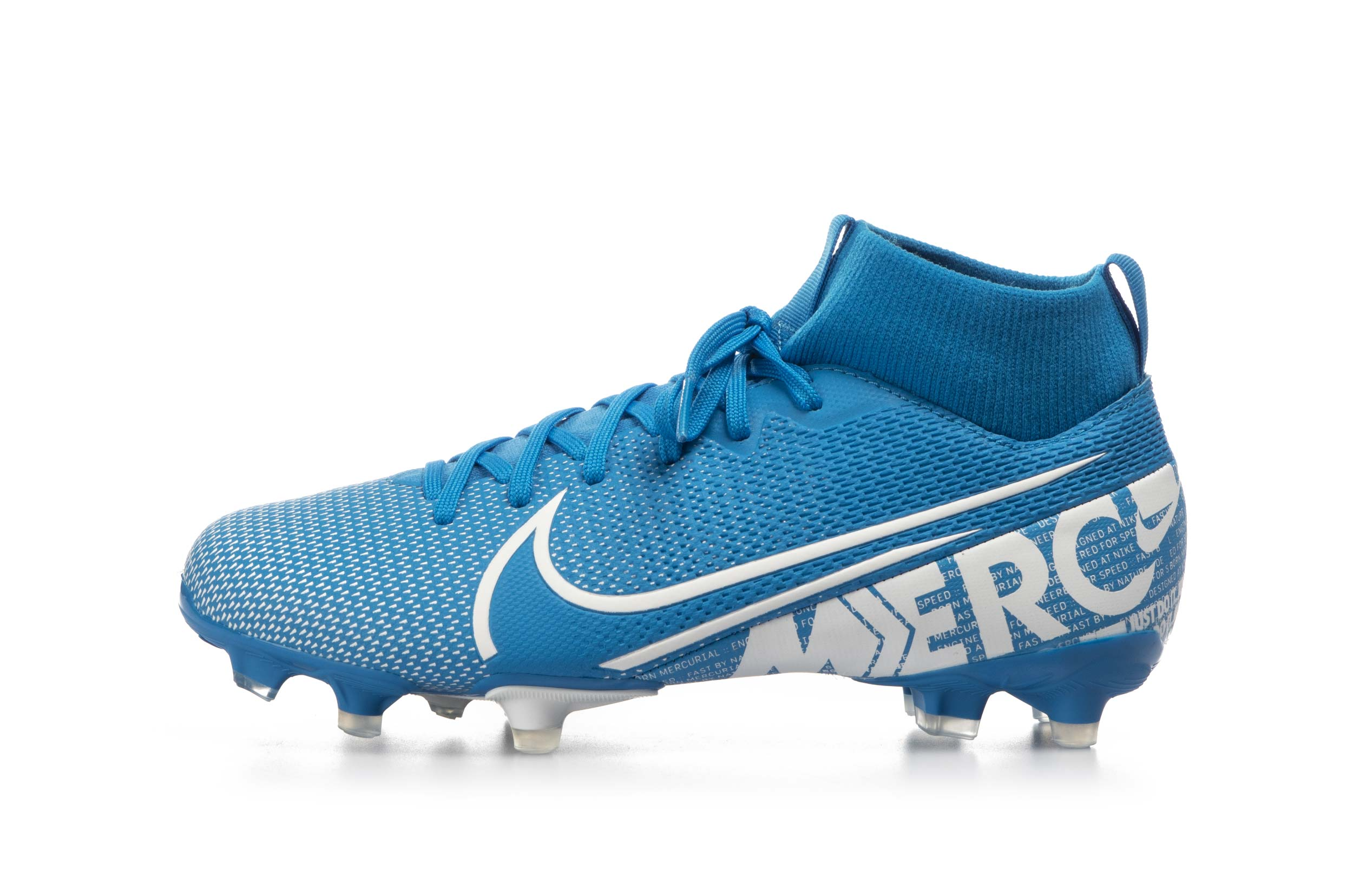 NIKE JR. MERCURIAL SUPERFLY 7 ACADEMY MG AT8120-414 Μπλε
