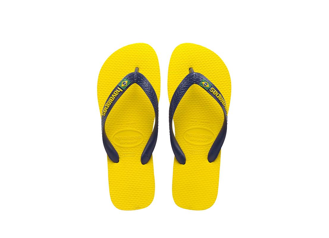 ΣΑΓΙΟΝΑΡΑ HAVAIANAS BRAZIL LOGO 4110850 Κίτρινο