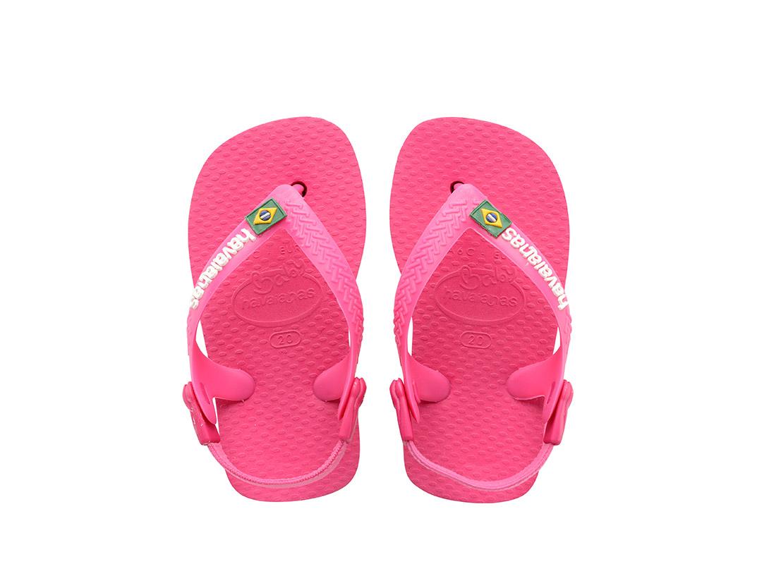 ΣΑΓΙΟΝΑΡΑ HAVAIANAS BRASIL LOGO 4119727-2655 Φούξια bebe   υποδήματα   σαγιονάρα