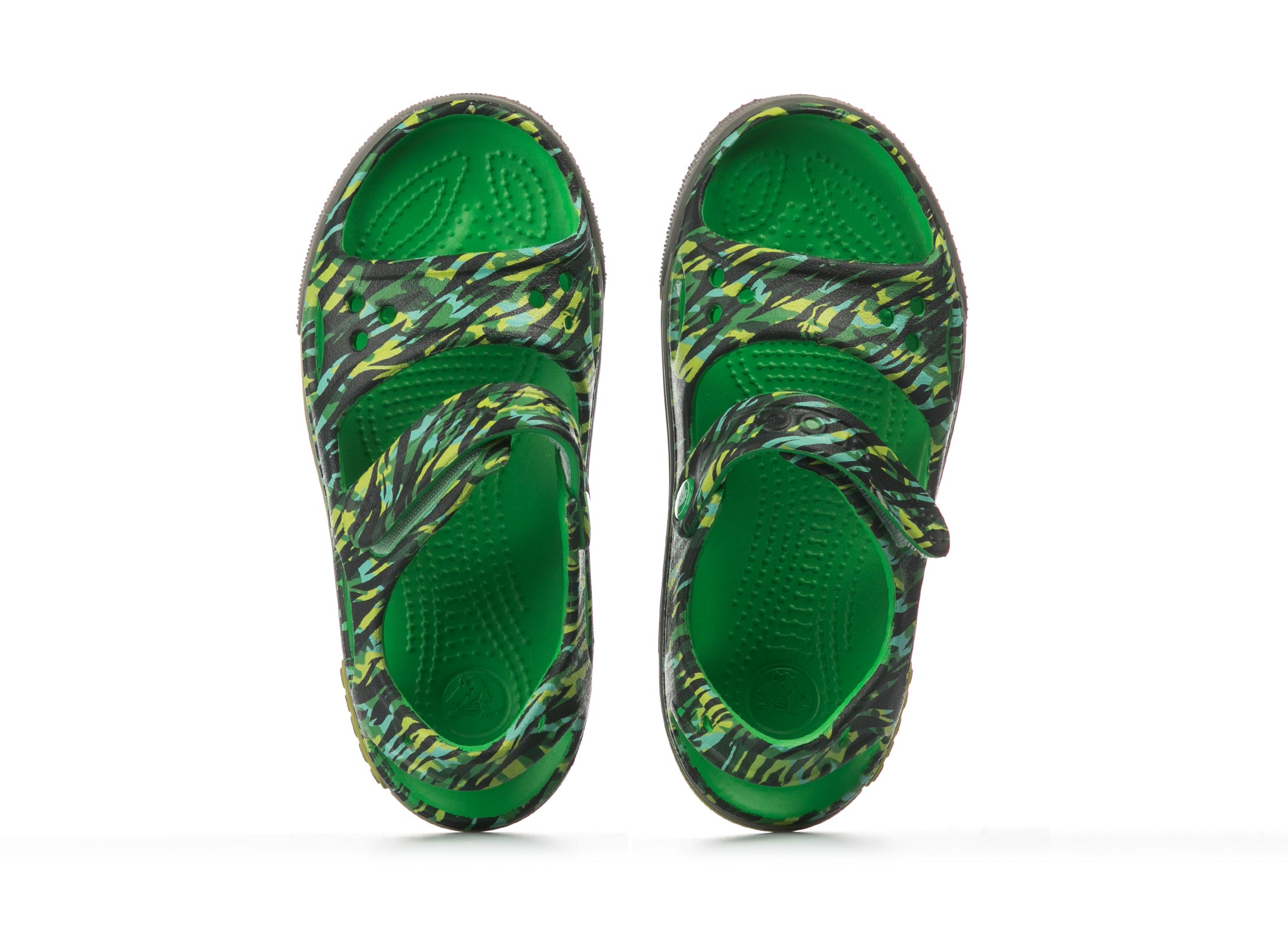 CROCS GRAPHIC SANDAL 204474-3E8 Πράσινο