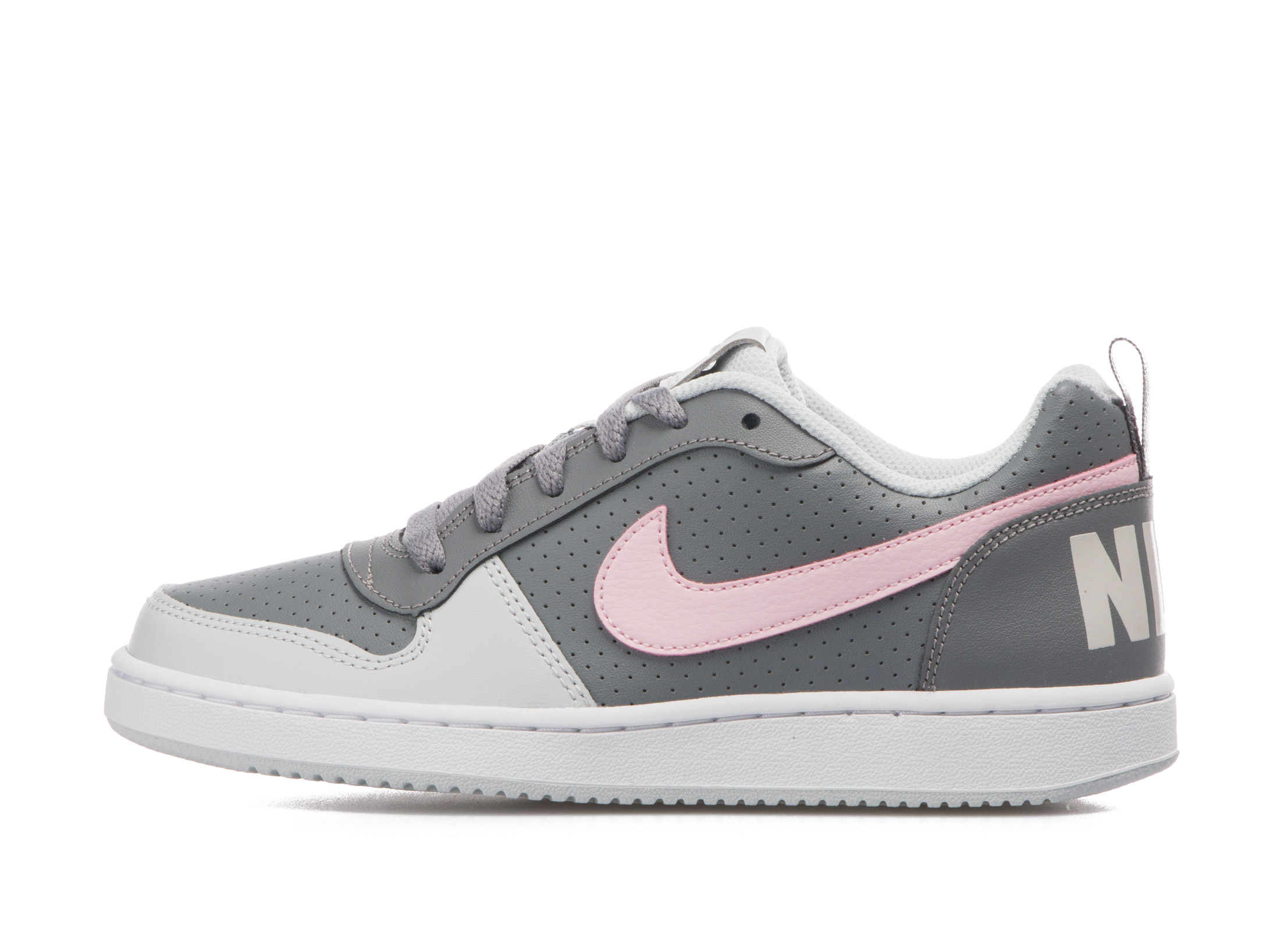 NIKE COURT BOROUGH LOW GS 845104-008 Ανθρακί