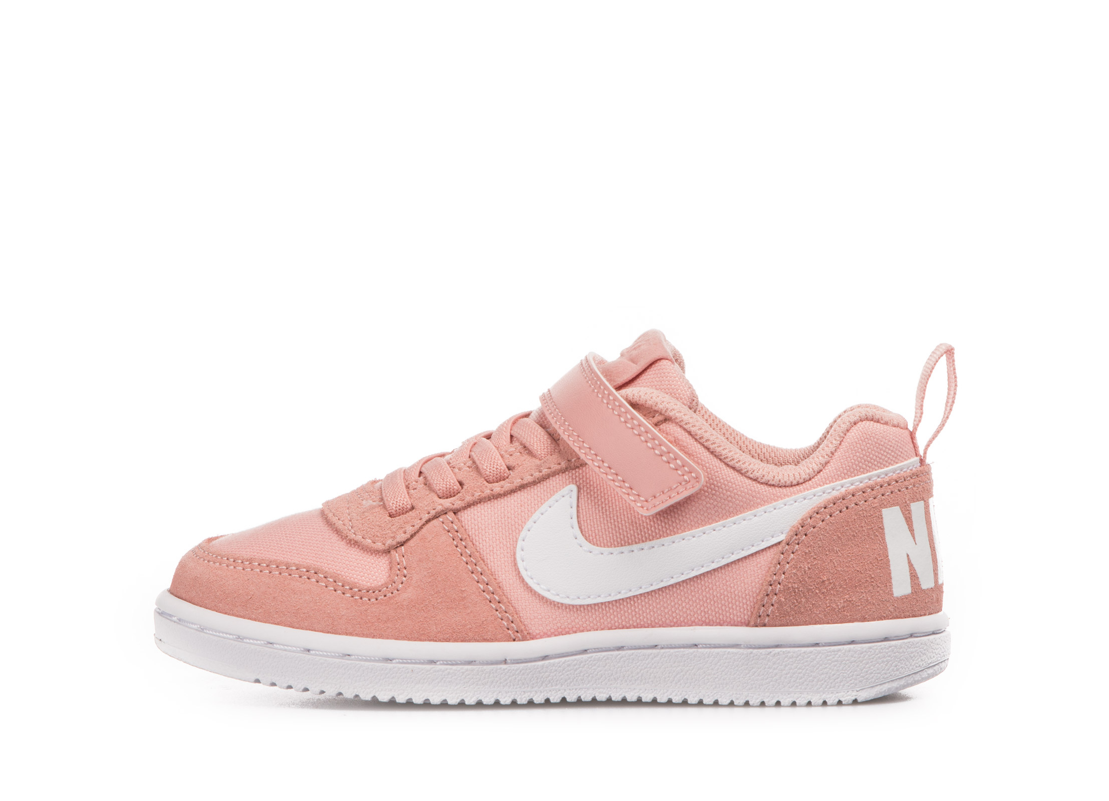 NIKE COURT BOROUGH LOW PE PS CD8514-600 Ροζ
