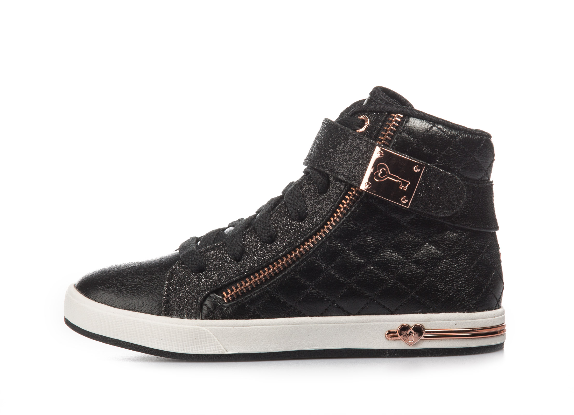 SKECHERS SHOUTOUTS – QUILTED CRUSH 84308L-BLK Μαύρο
