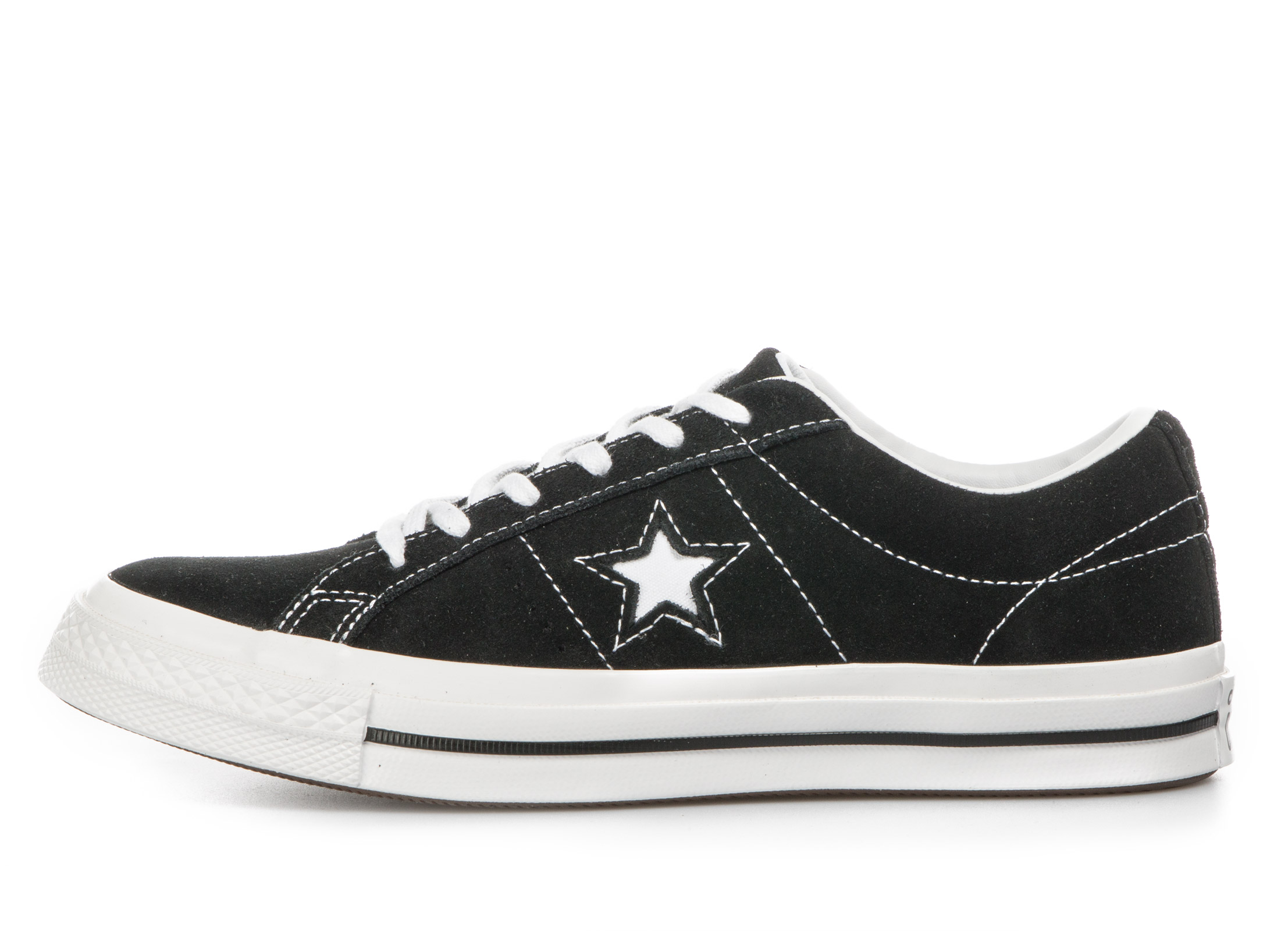 CONVERSE One Star Ox 261794C Μαύρο