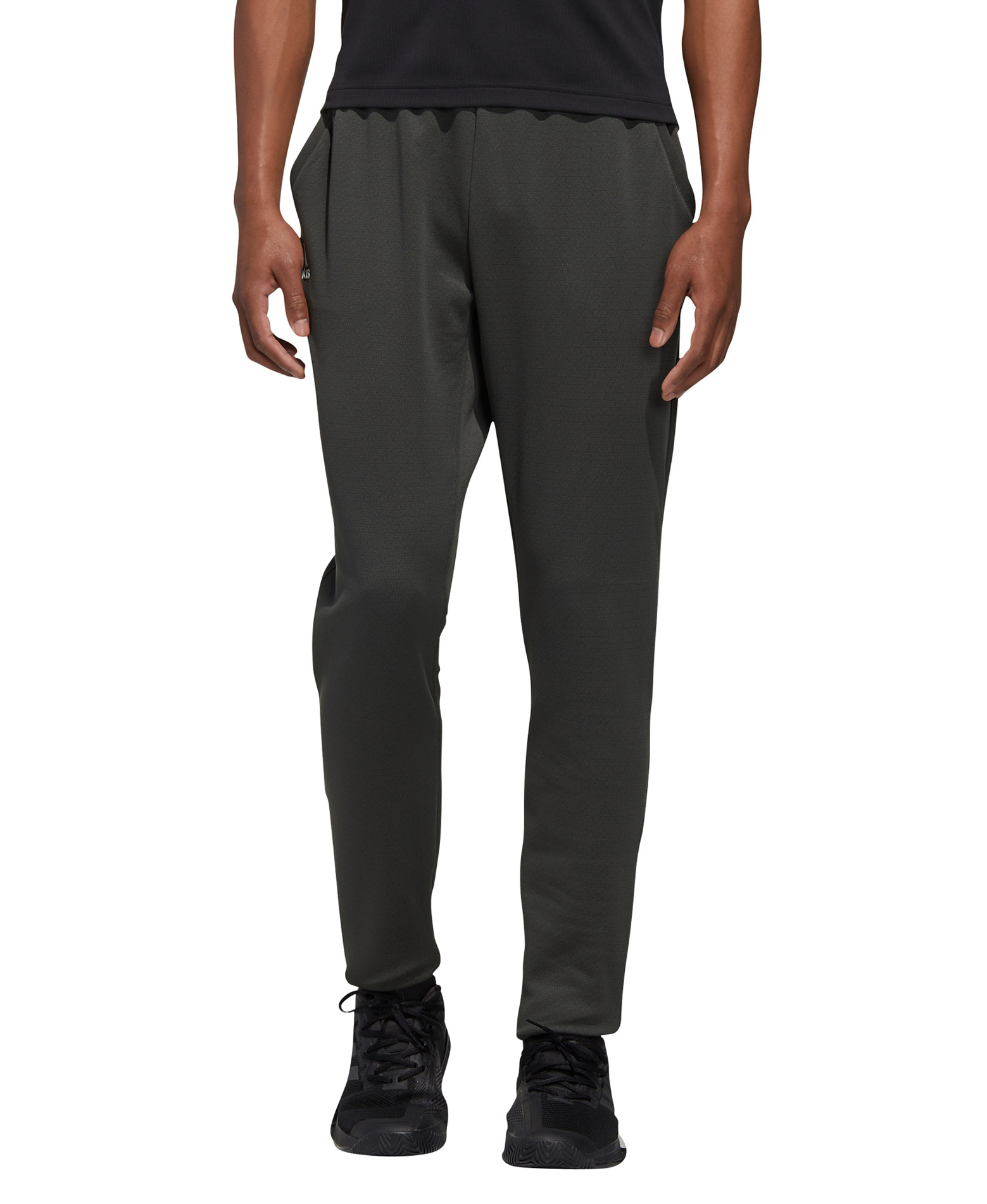 adidas Performance M KNIT PANT FS3784 Χακί
