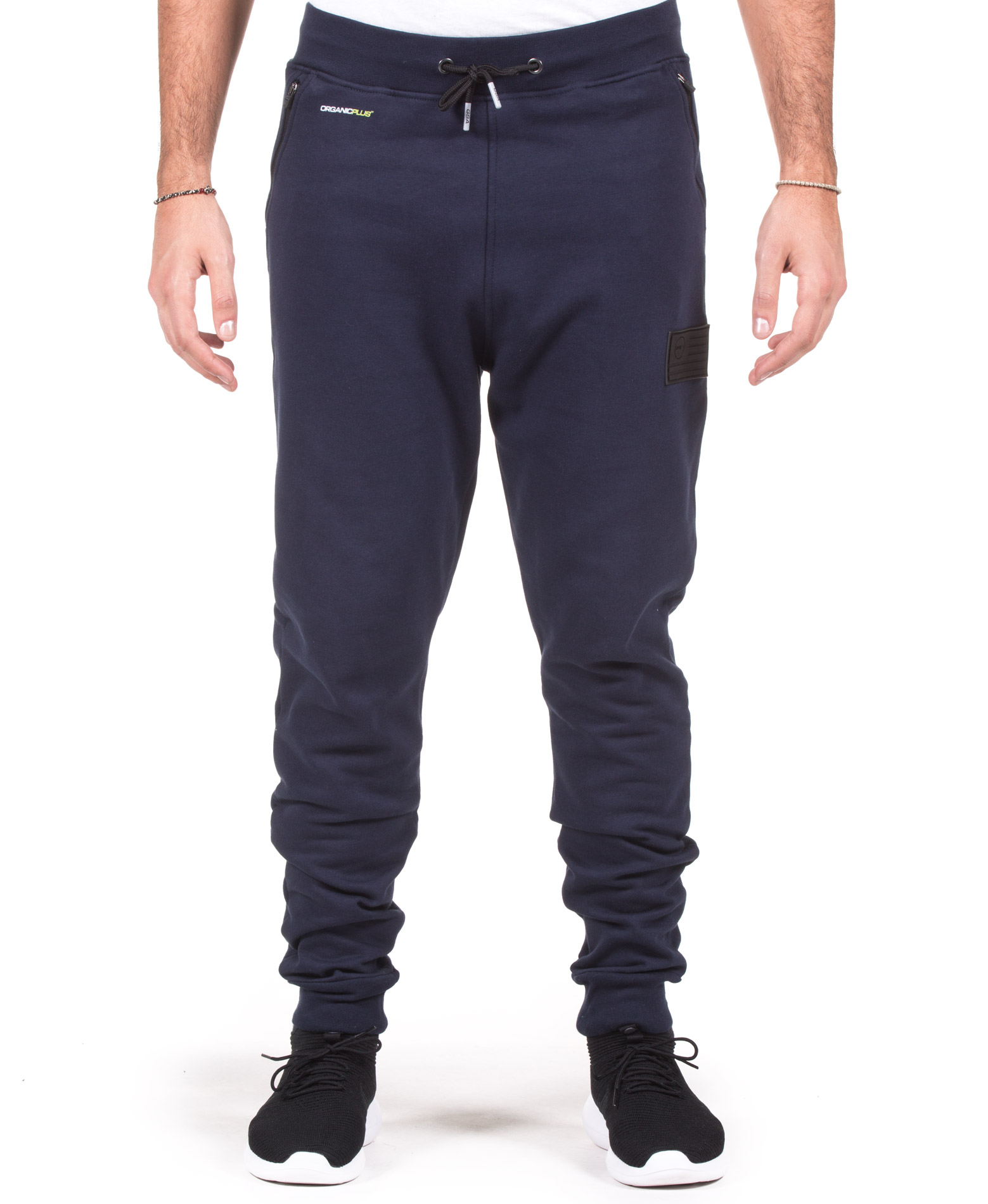 GSA SUPPERCOTTON PLUS SLIM SWEATPANTS 17-17023-03 INK Μπλε