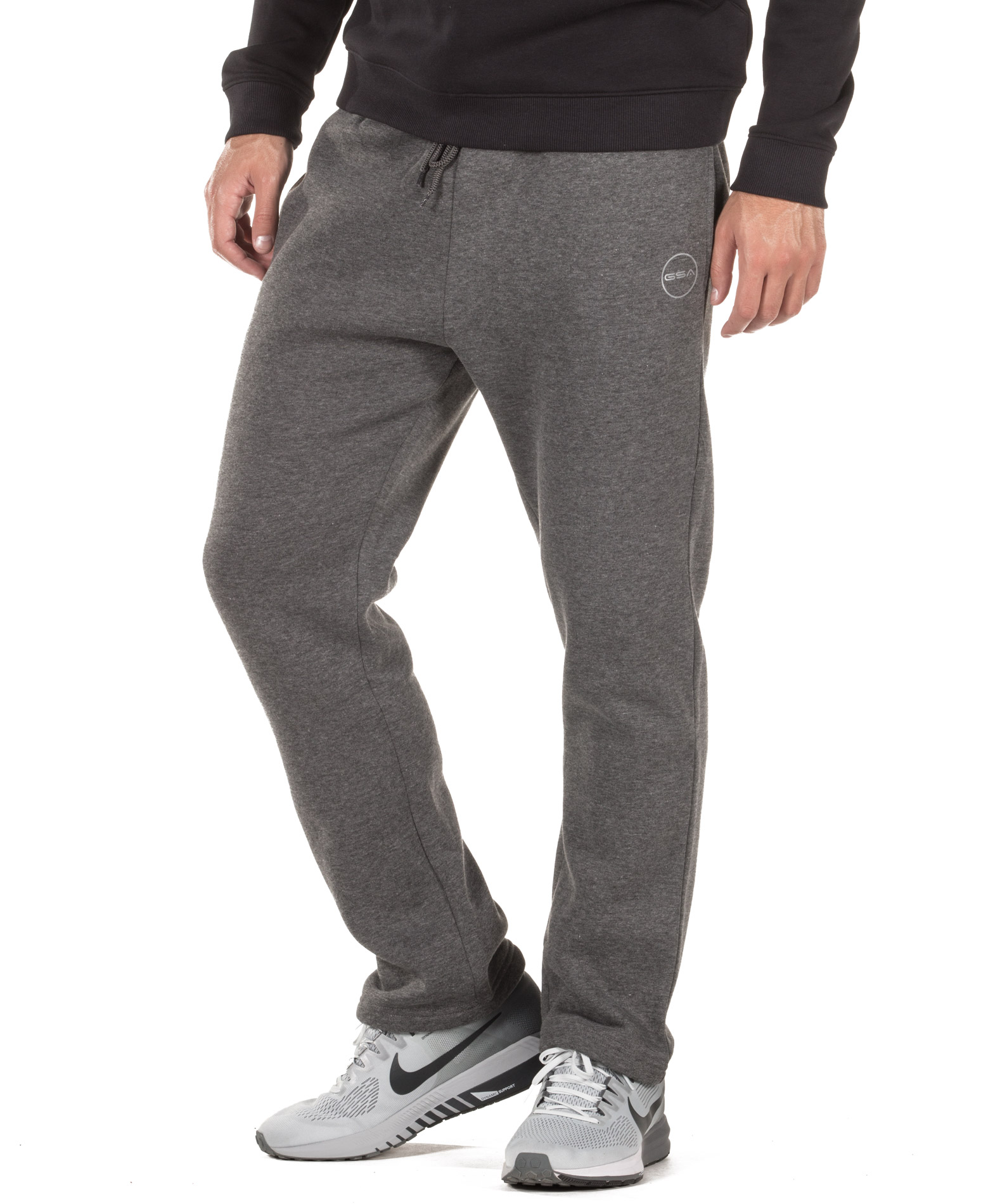 GSA BOOTCUT SWEATPANTS 17-17028-CHARCOAL Ανθρακί