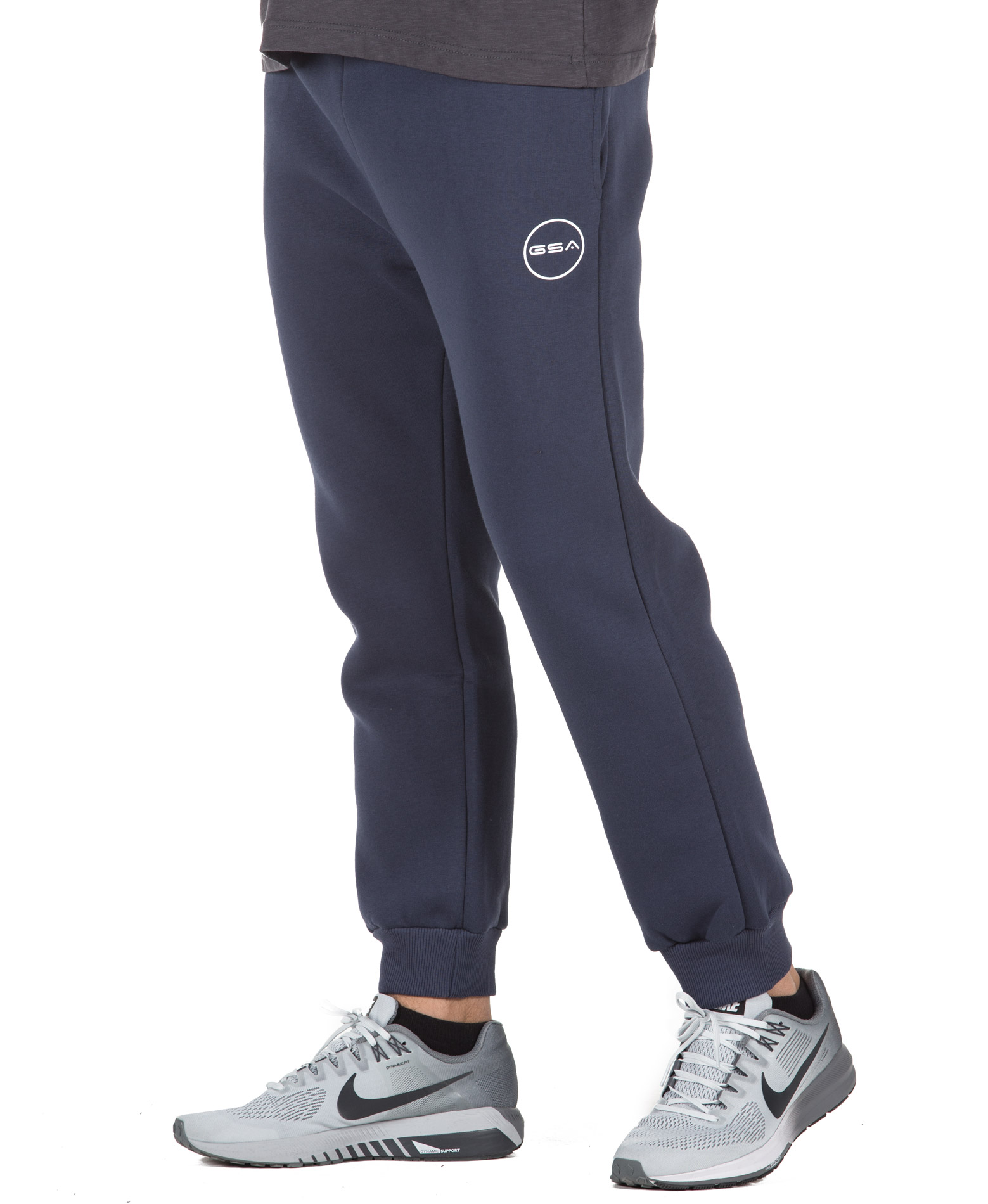 GSA SUPERCOTTON JOGGERS SWEATPANTS 17-17027-03 BLUE MARINE Μπλε