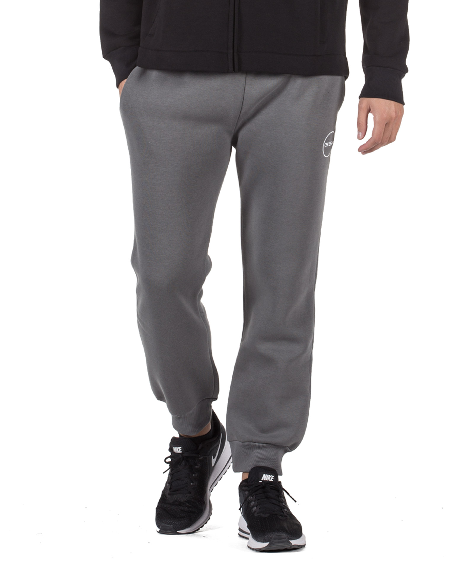 GSA SUPERCOTTON JOGGERS SWEATPANTS 17-17027-06 CHARCOAL Ανθρακί