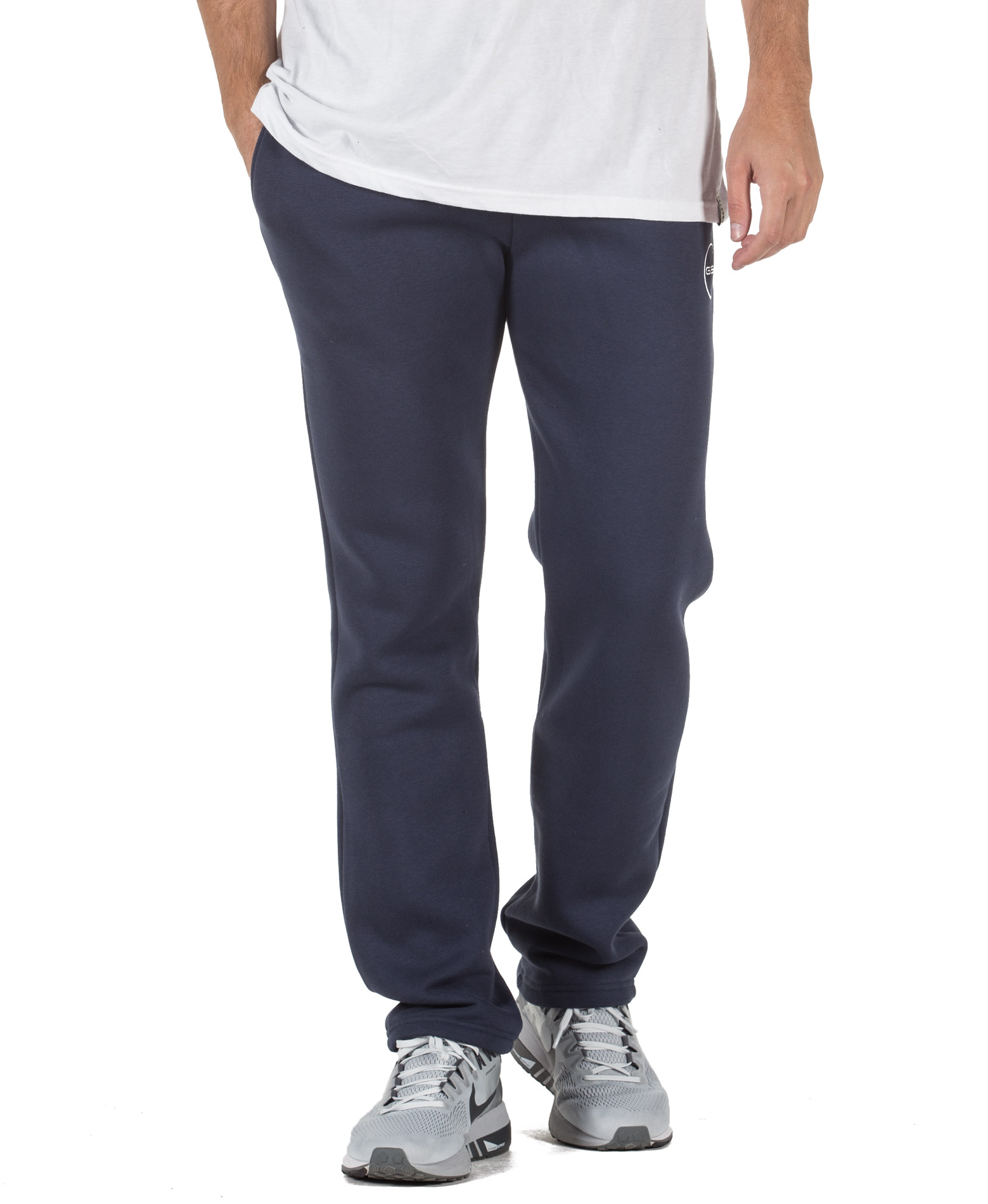 GSA SUPERCOTTON BOOTCUT SWEATPANTS 17-17028-03 BLUE MARINE Μπλε