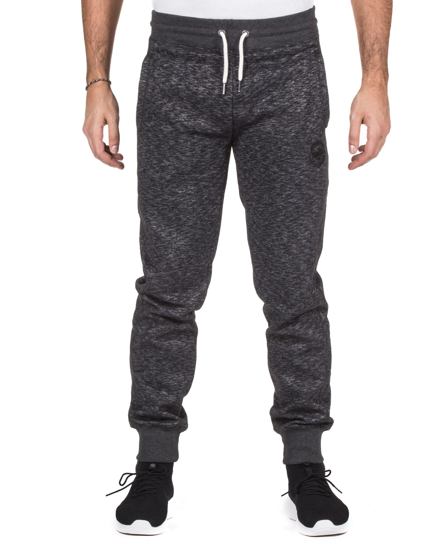 RUSSELL ATHLETIC COLLEGIATE CUFFED PANT A7-038-2-098 Ανθρακί ανδρας   ενδύματα   παντελόνια
