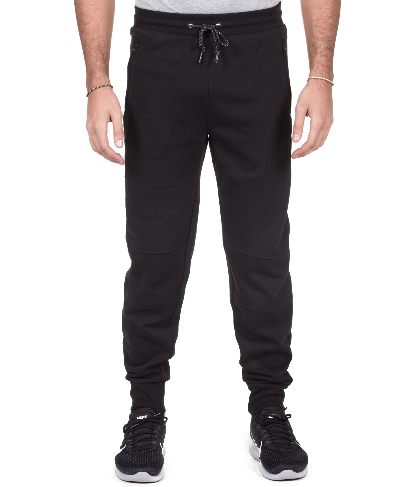 RUSSELL ATHLETIC CUFFED LEGS PANT A7-077-2-099 Μαύρο