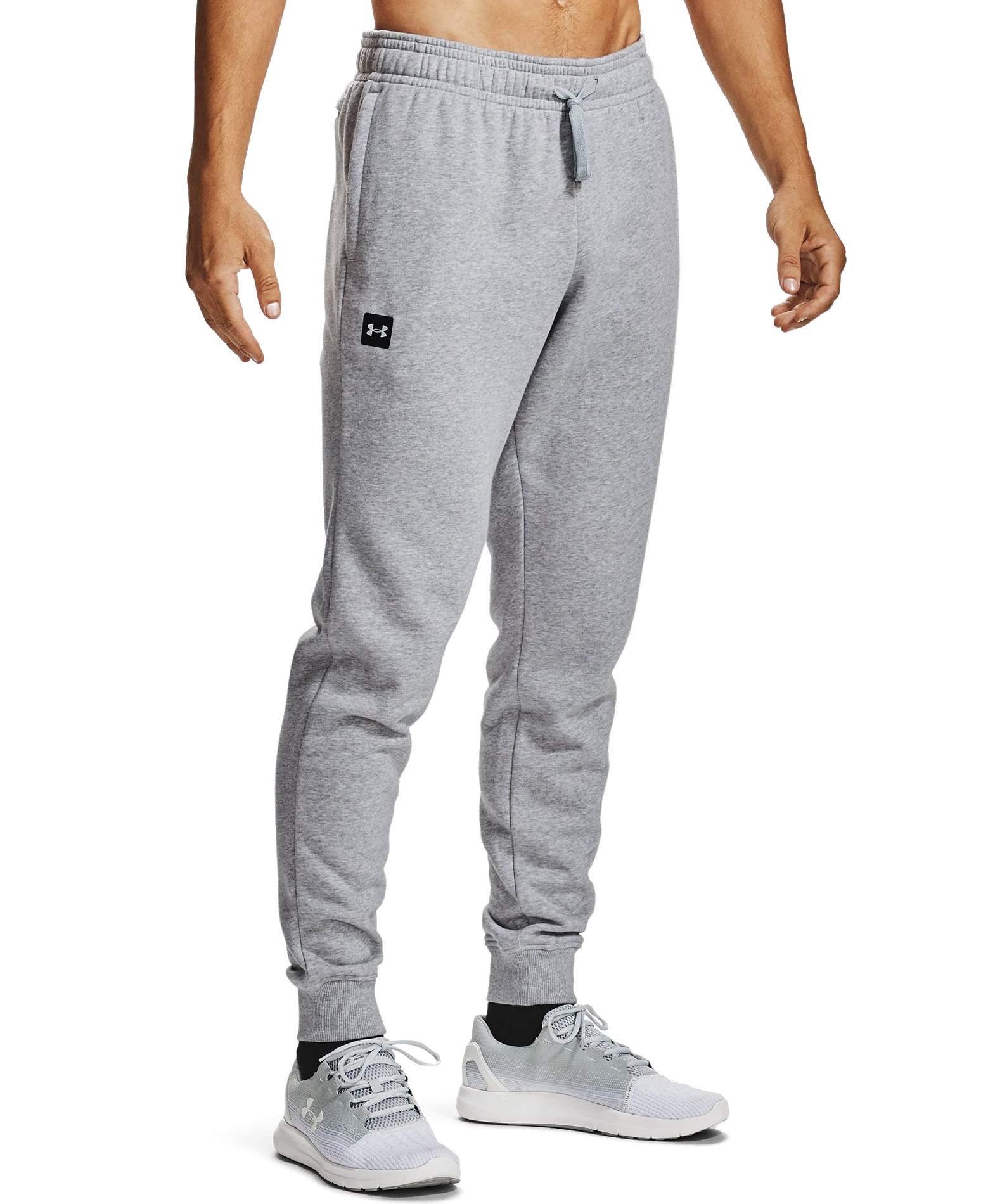 UNDER ARMOUR RIVAL FLEECE JOGGERS 1357128-011 Γκρί