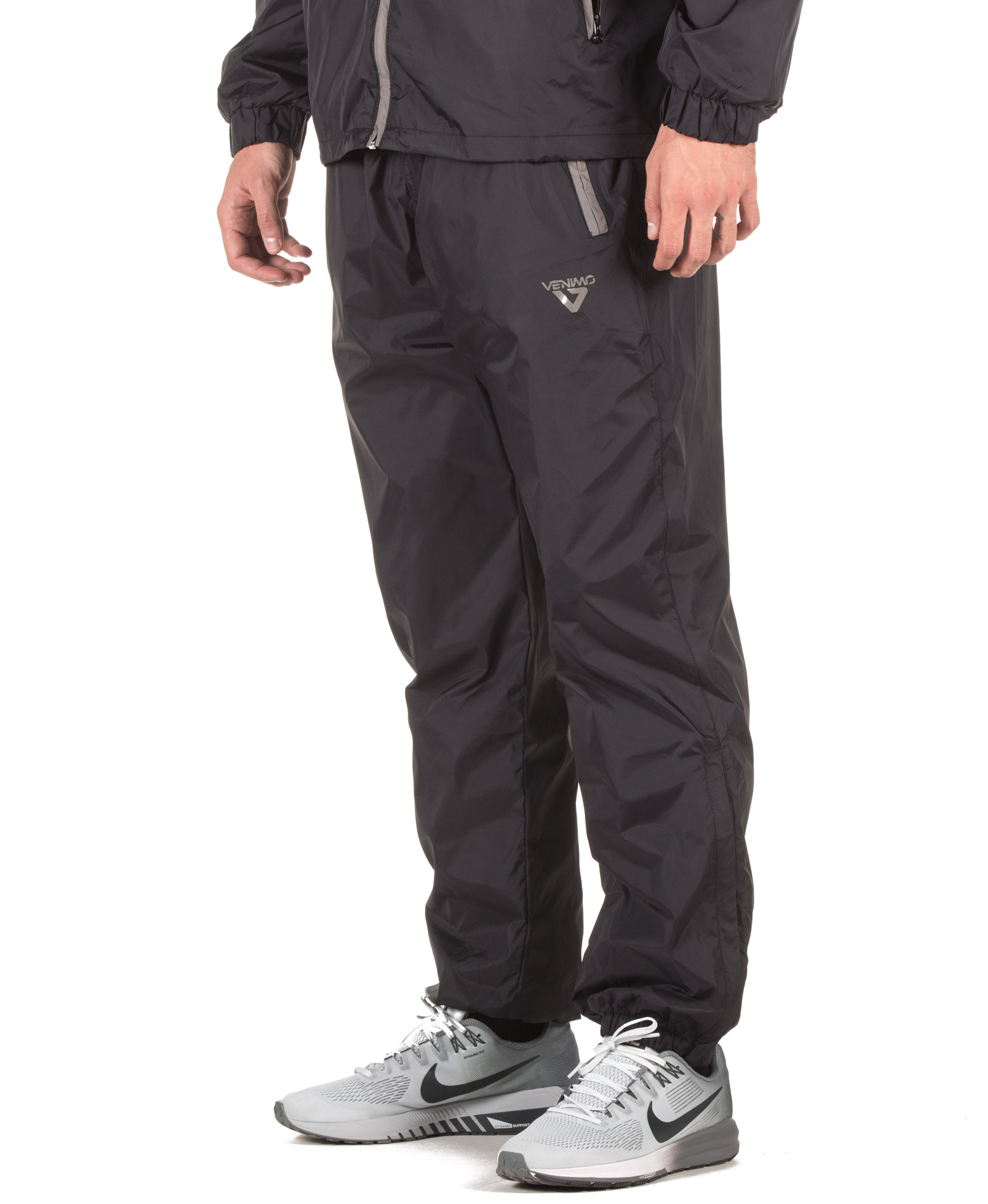 VENIMO SOLID PANT 17-21020501 Μαύρο