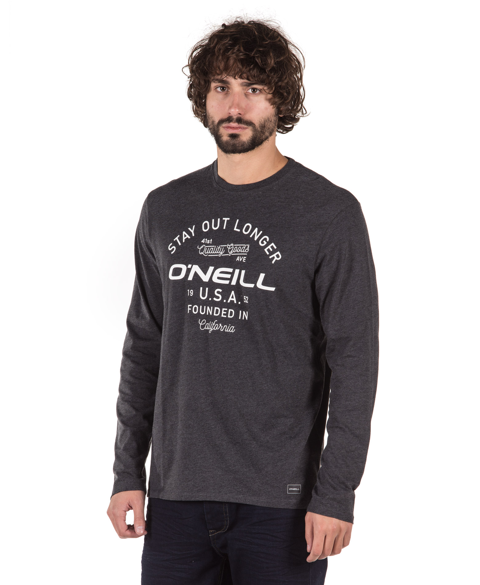O'NEILL LM STAY OUT L/SLV T-SHIRT 8P2108-8029 Ανθρακί