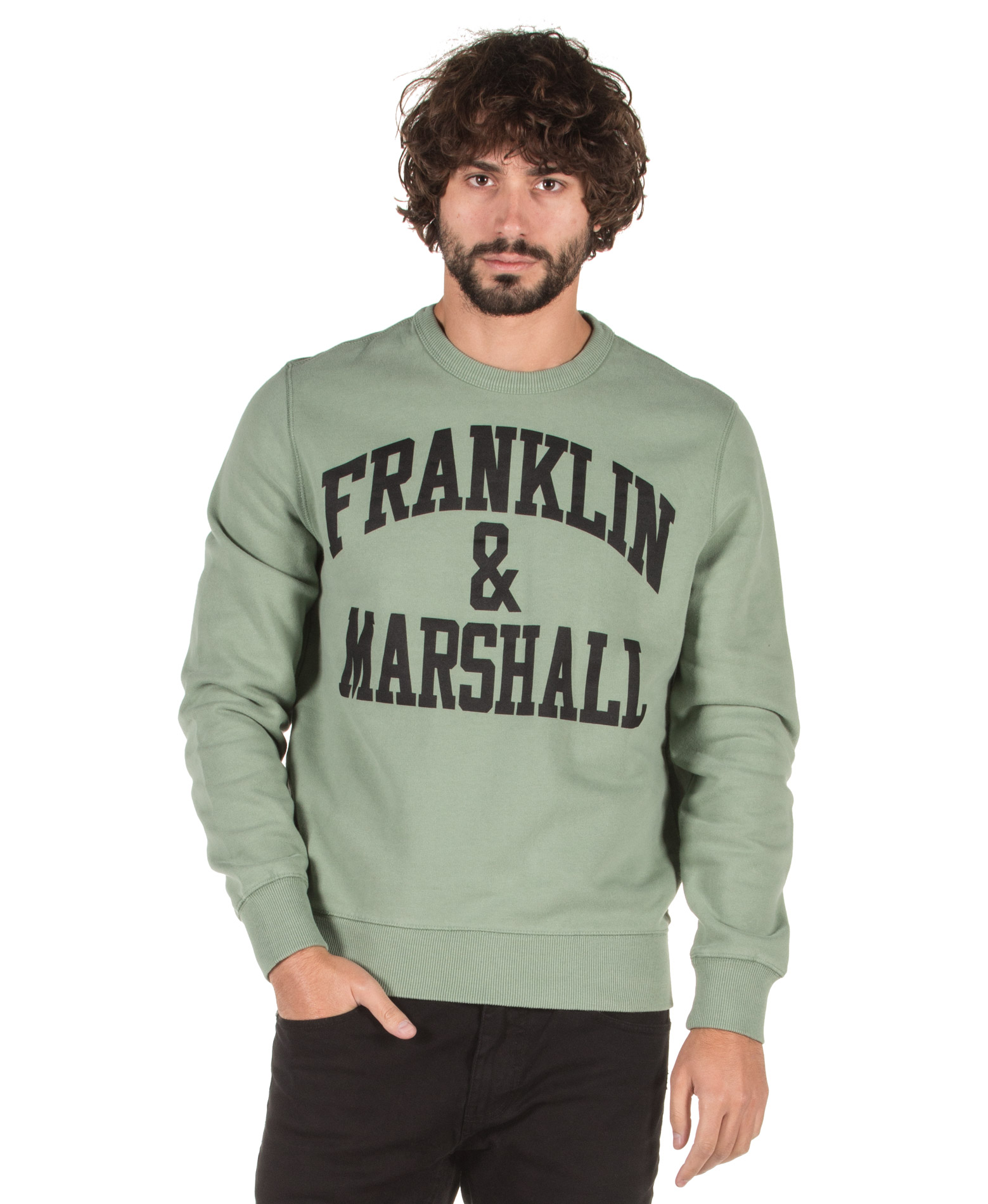 FRANKLIN MARSHALL FLMF061AN-03X4 Χακί
