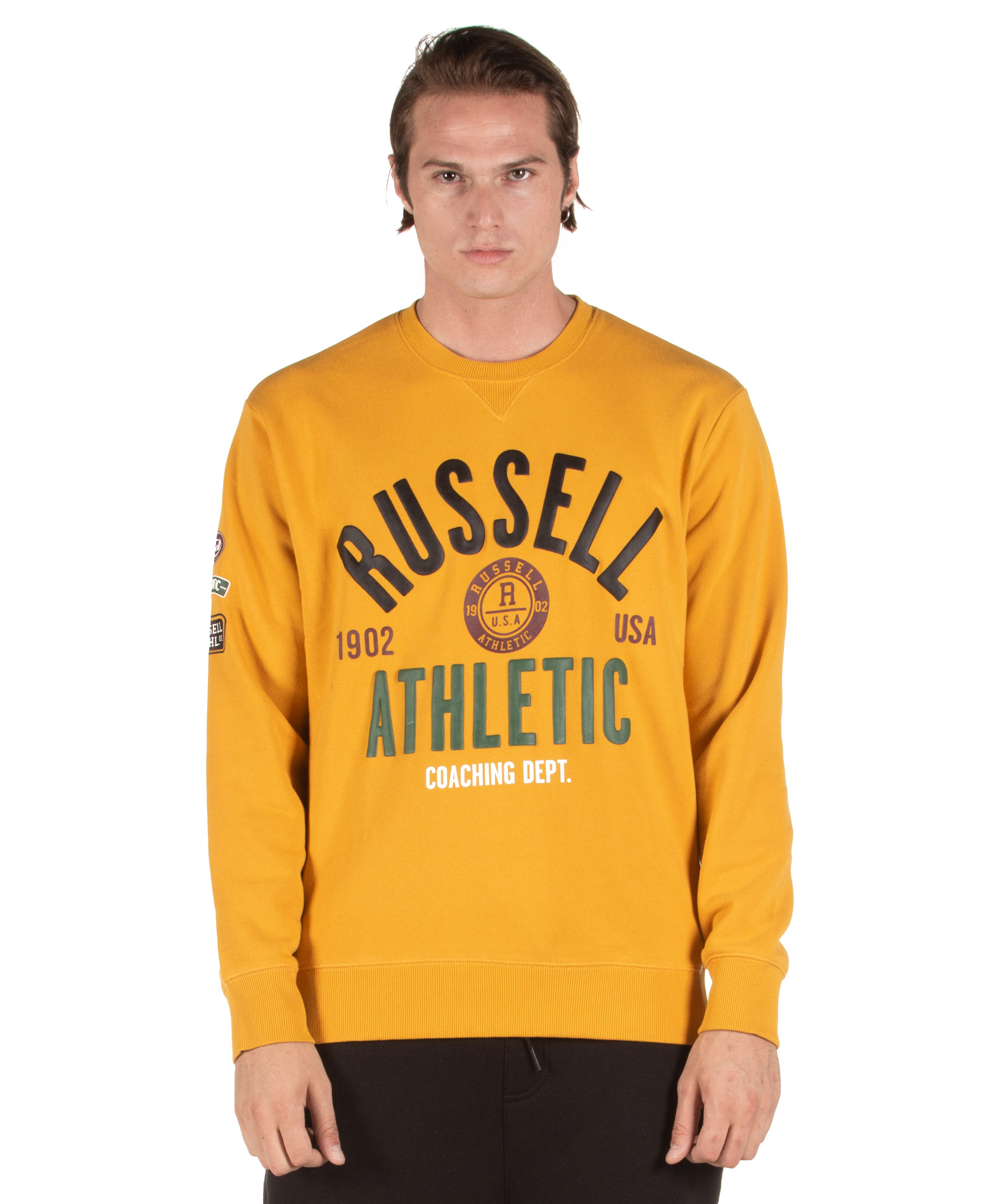 Russell Athletic A9-029-2-355 Μουσταρδί