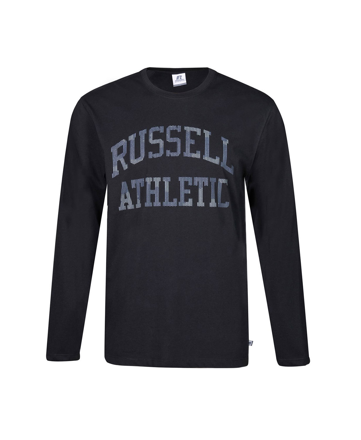 Russell Athletic L/S CREWNECK TEE SHIRT A0-087-2-099 Μαύρο