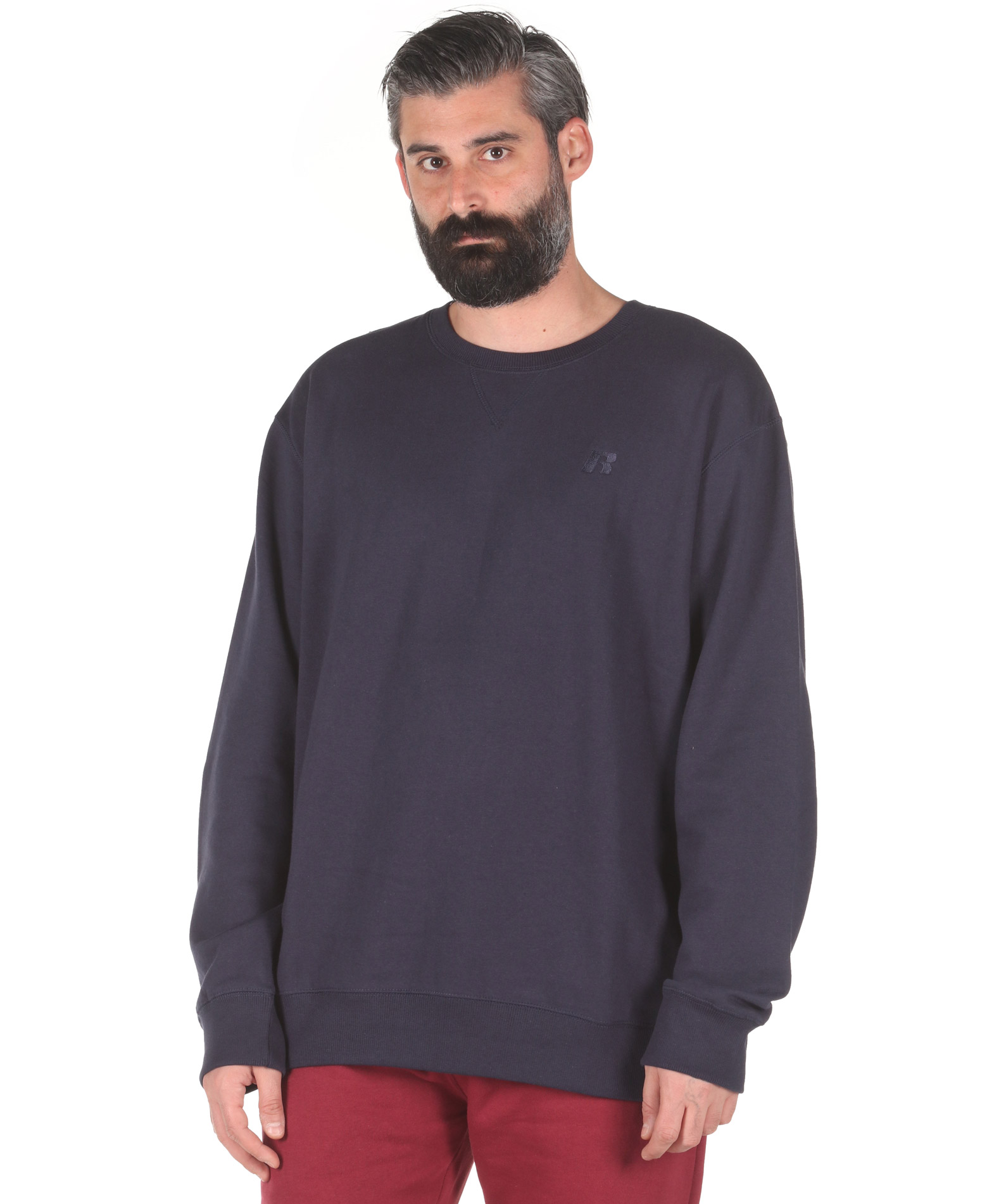 Russell Athletic CREWNECK SWEATSHIRT A0-003-2-190 Μπλε