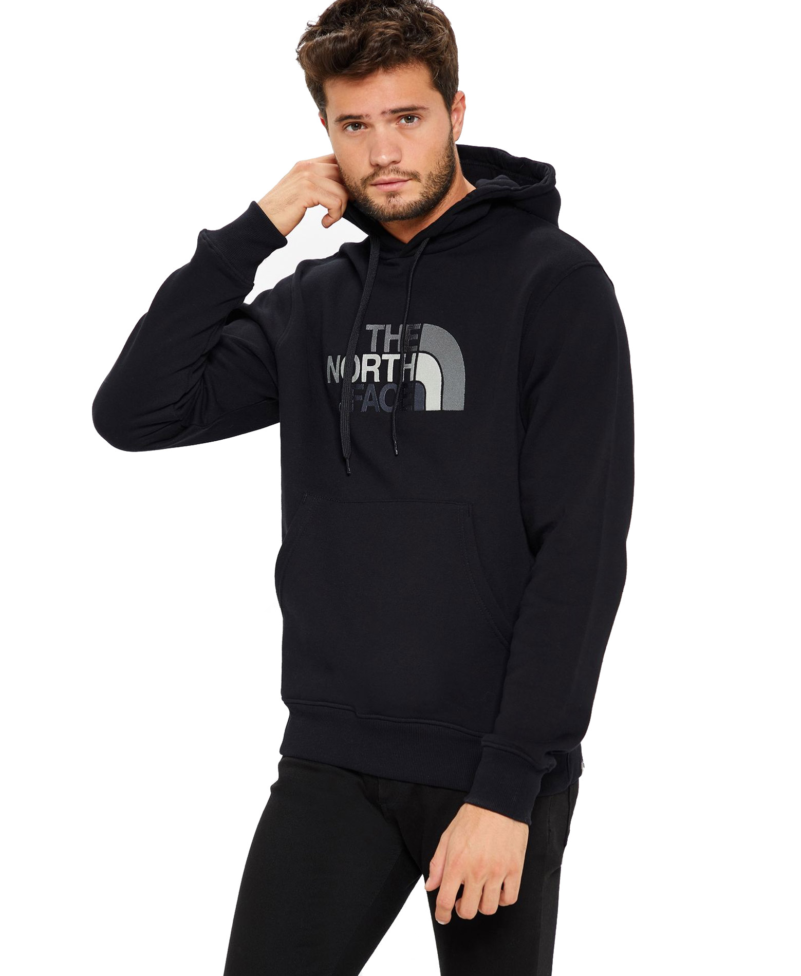 THE NORTH FACE M DREW PEAK PULLOVER HOODIE NFAHJYKX7-KX7 Μαύρο