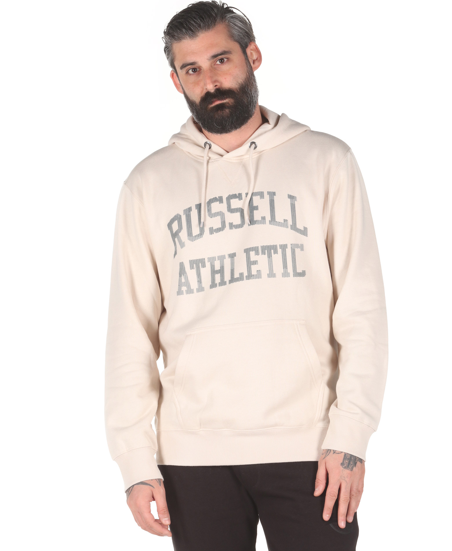 Russell Athletic CAMO PRINTED PULLOVER HOODY A0-088-2-419 Μπορντό