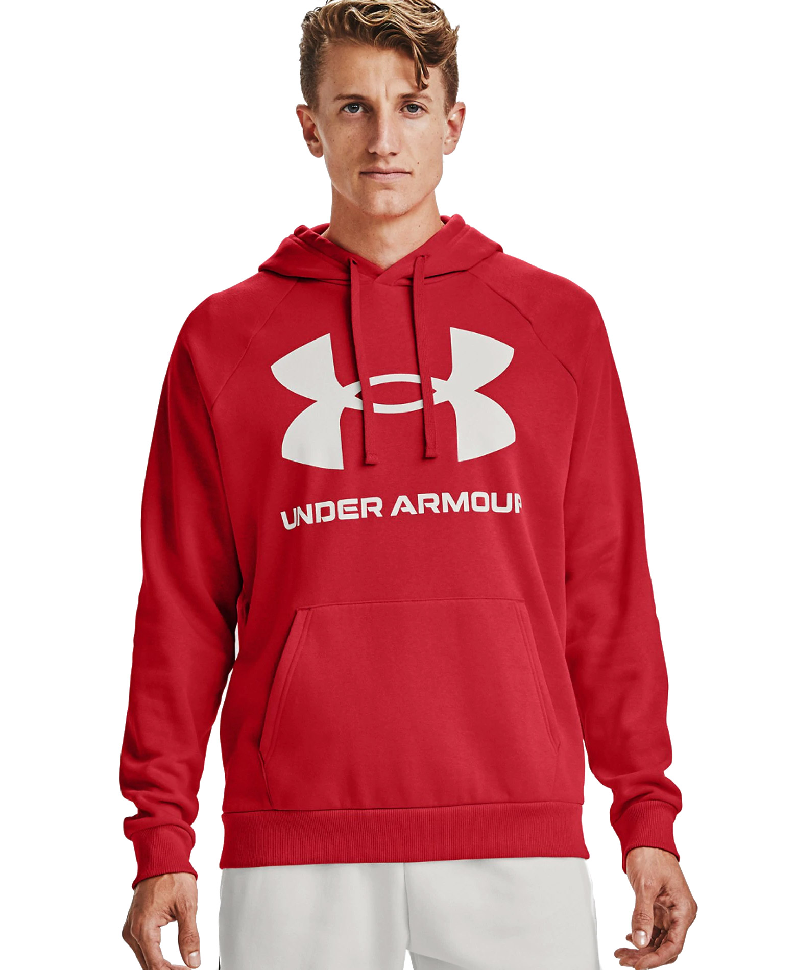 UNDER ARMOUR RIVAL FLEECE BIG LOGO HD 1357093-608 Κόκκινο