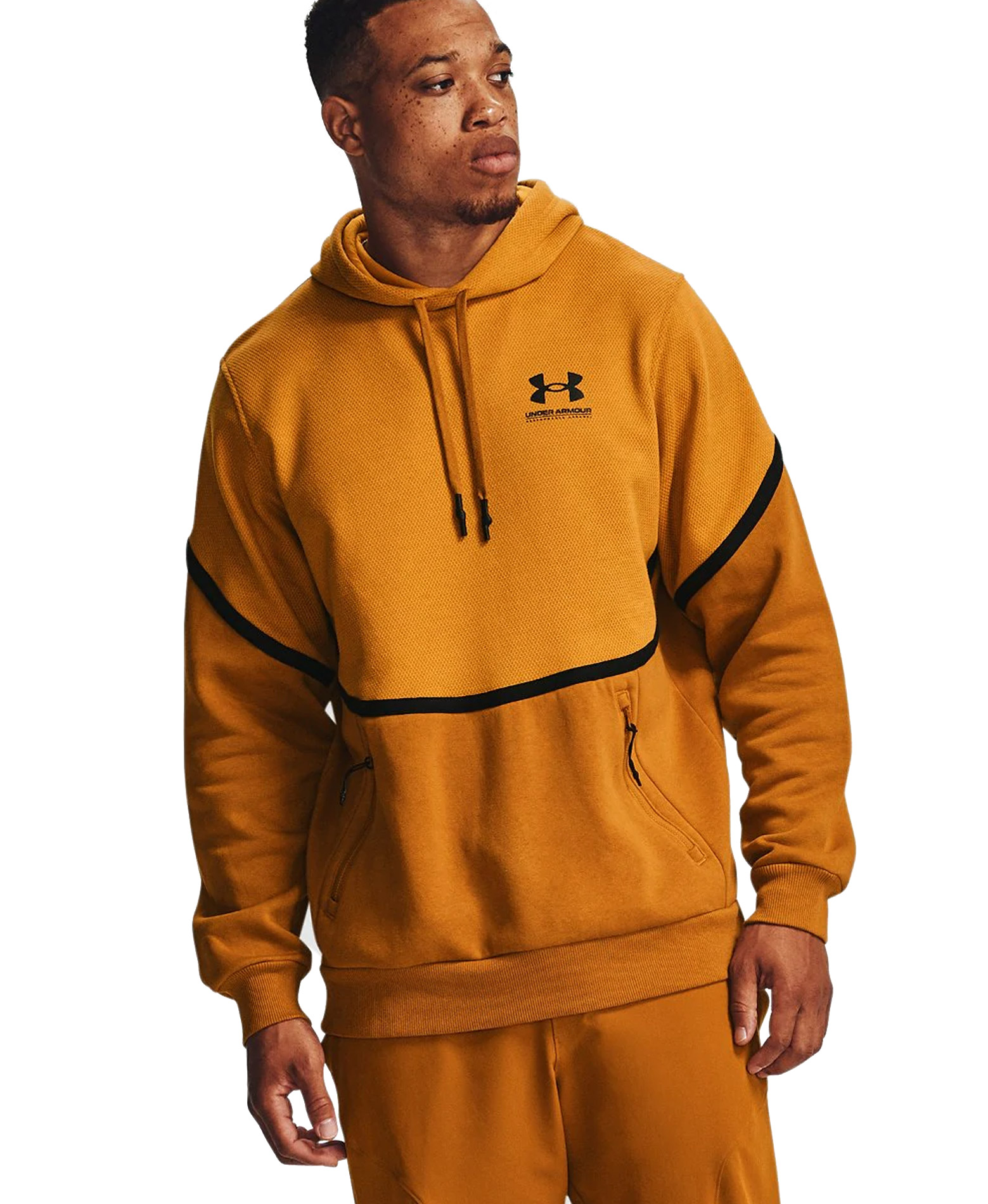 UNDER ARMOUR RIVAL FLEECE AMP HD 1357090-711 Κίτρινο