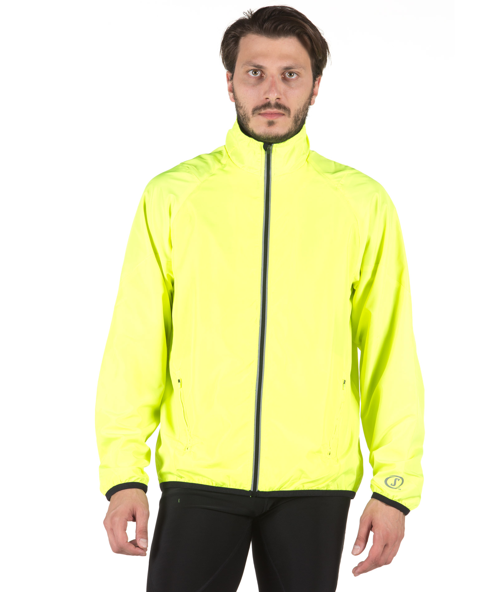 SPALDING MENS ADRENALIN JACKET 0S6000-YF Λαχανί