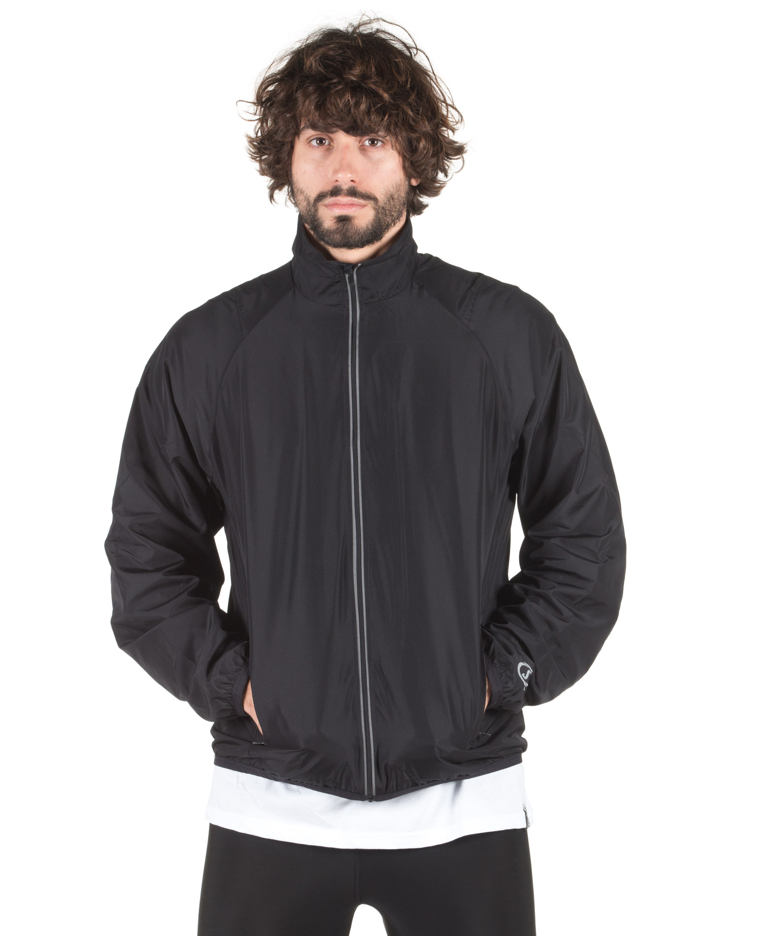 SPALDING MENS ADRENALIN JACKET 0S6000-36 Μαύρο