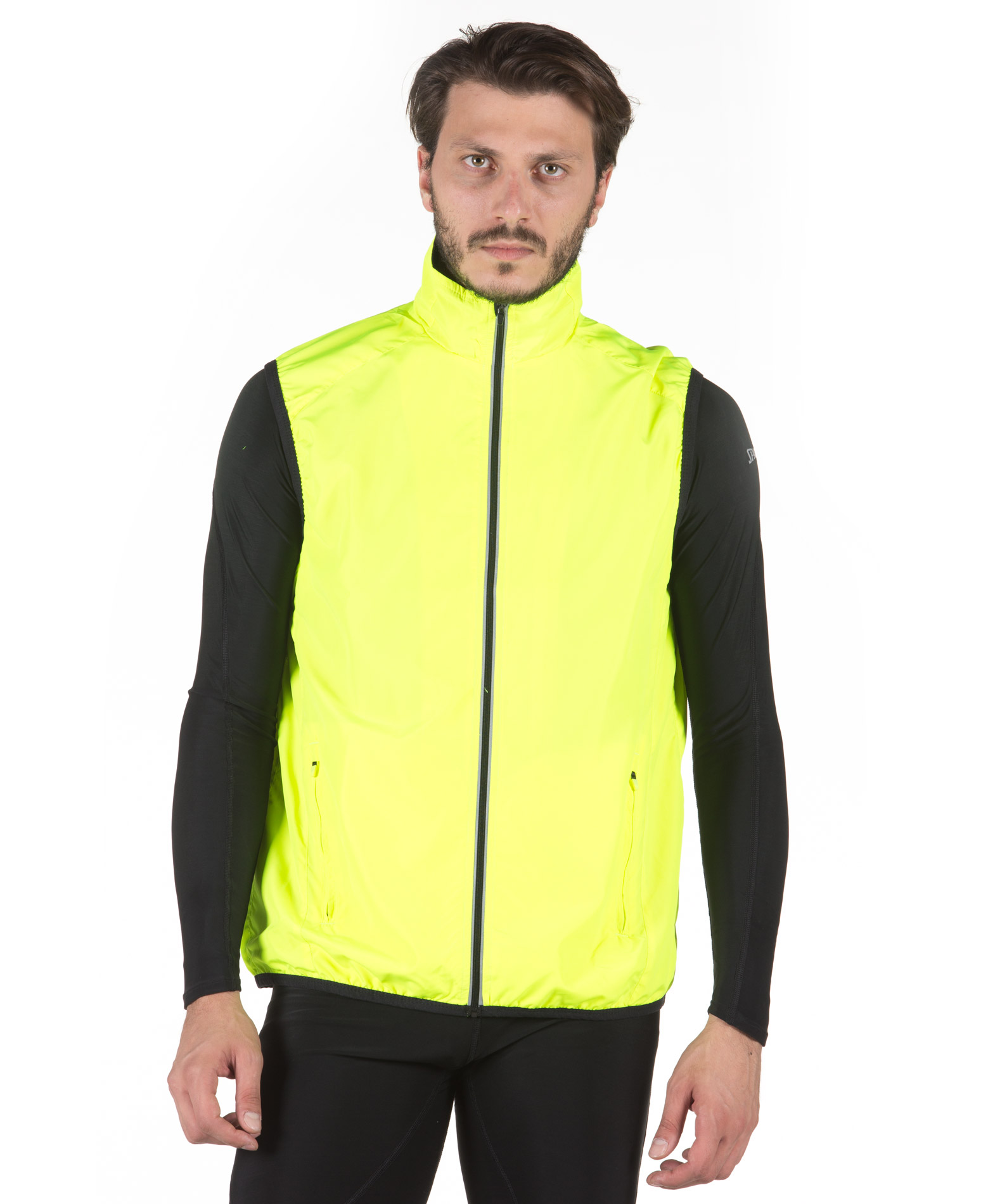 SPALDING MENS EXHILARATION GILET 0S6002-YF Λαχανί