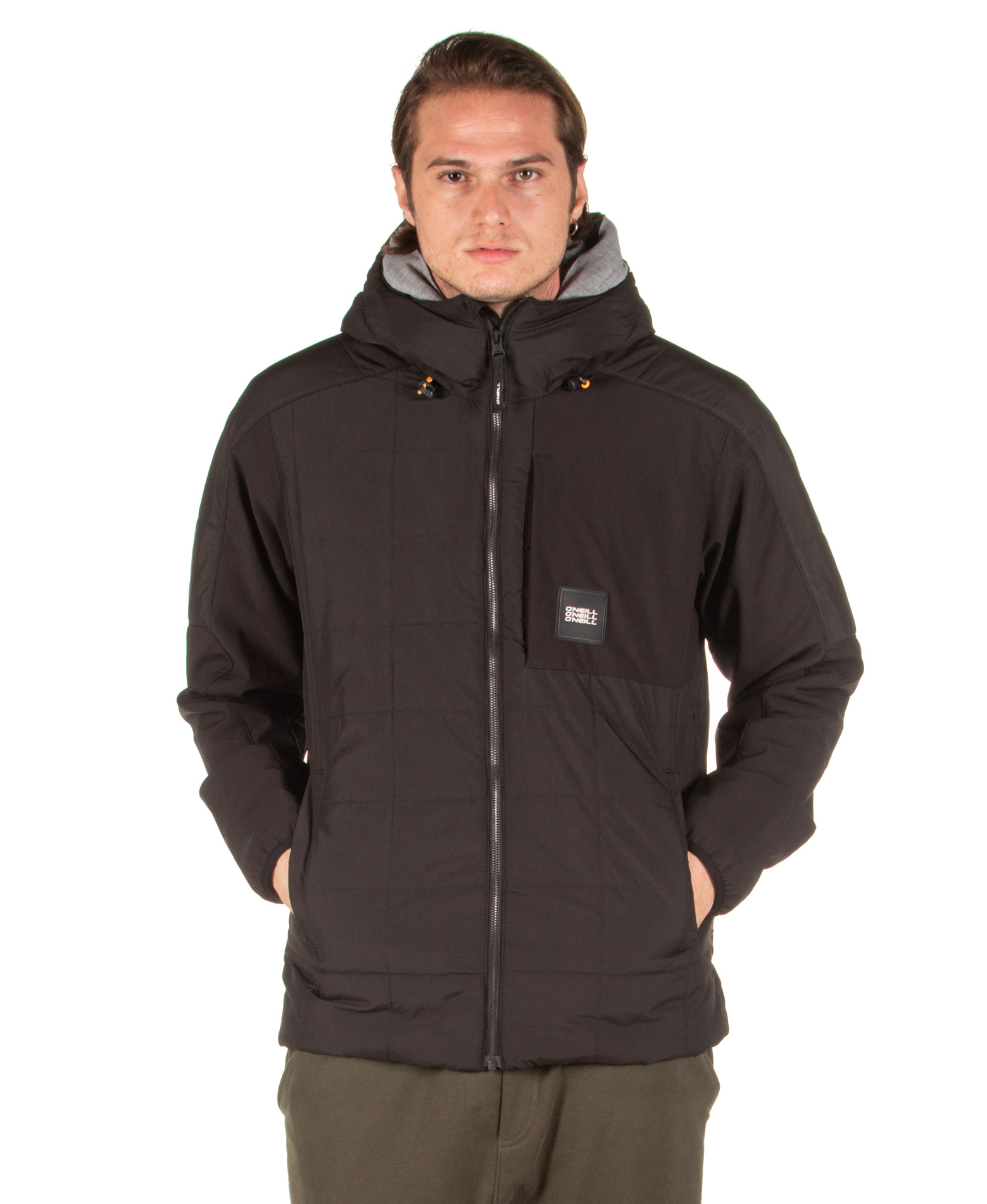 O'NEILL PM MANEUVER QUILT-MIX JACKET 9P0116-9010 Μαύρο