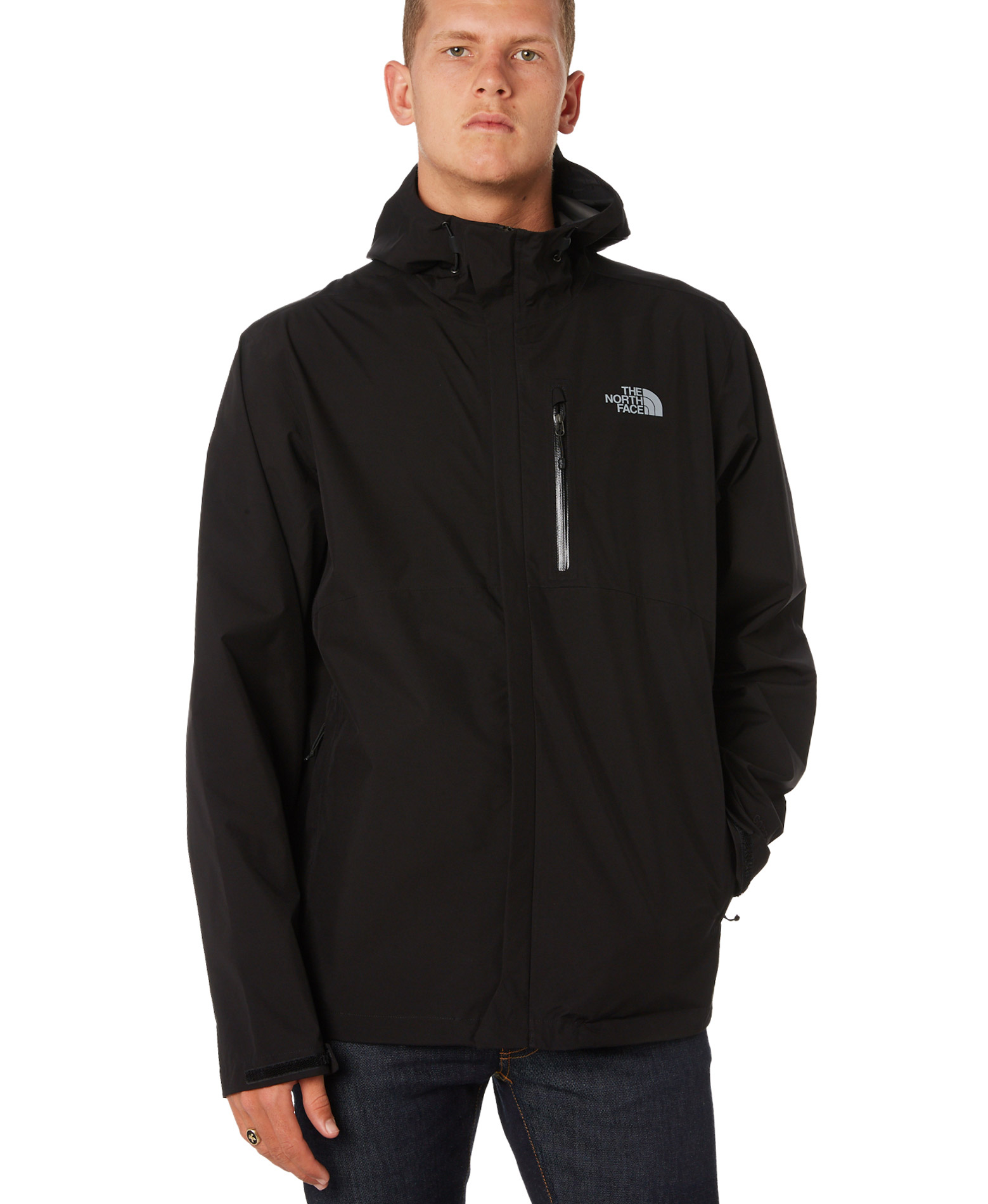 THE NORTH FACE M DRYZL FL JKT NFA4AHMJK3-JK3 Μαύρο