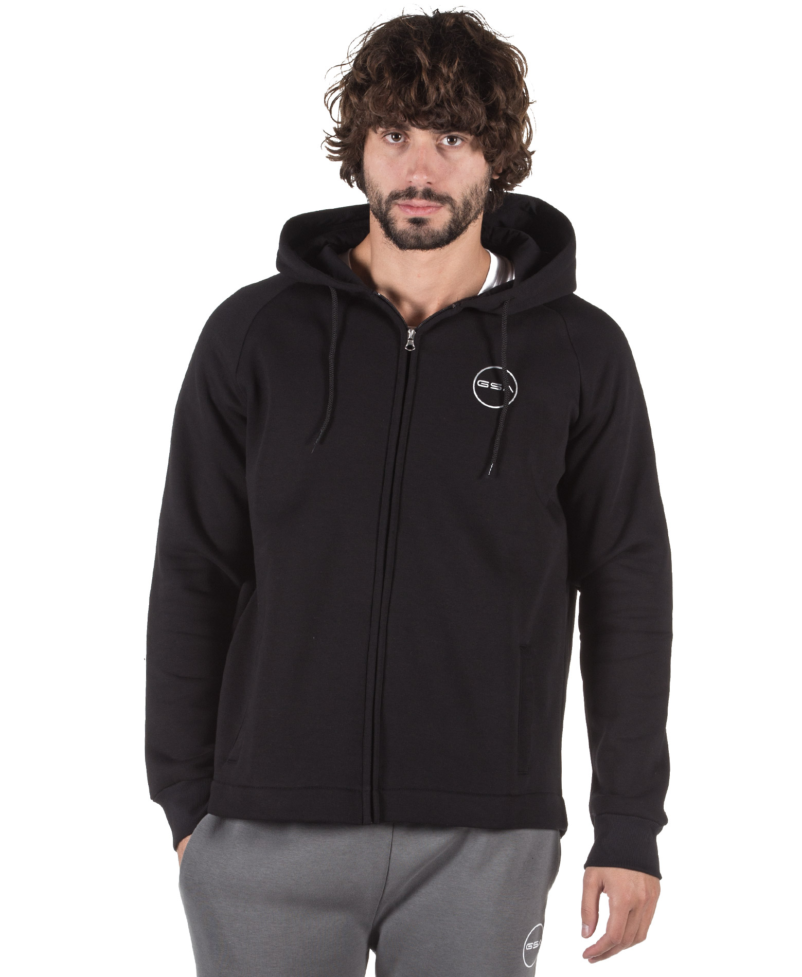 GSA SUPERCOTTON JACKET 17-18132-01 JET BLACK Μαύρο