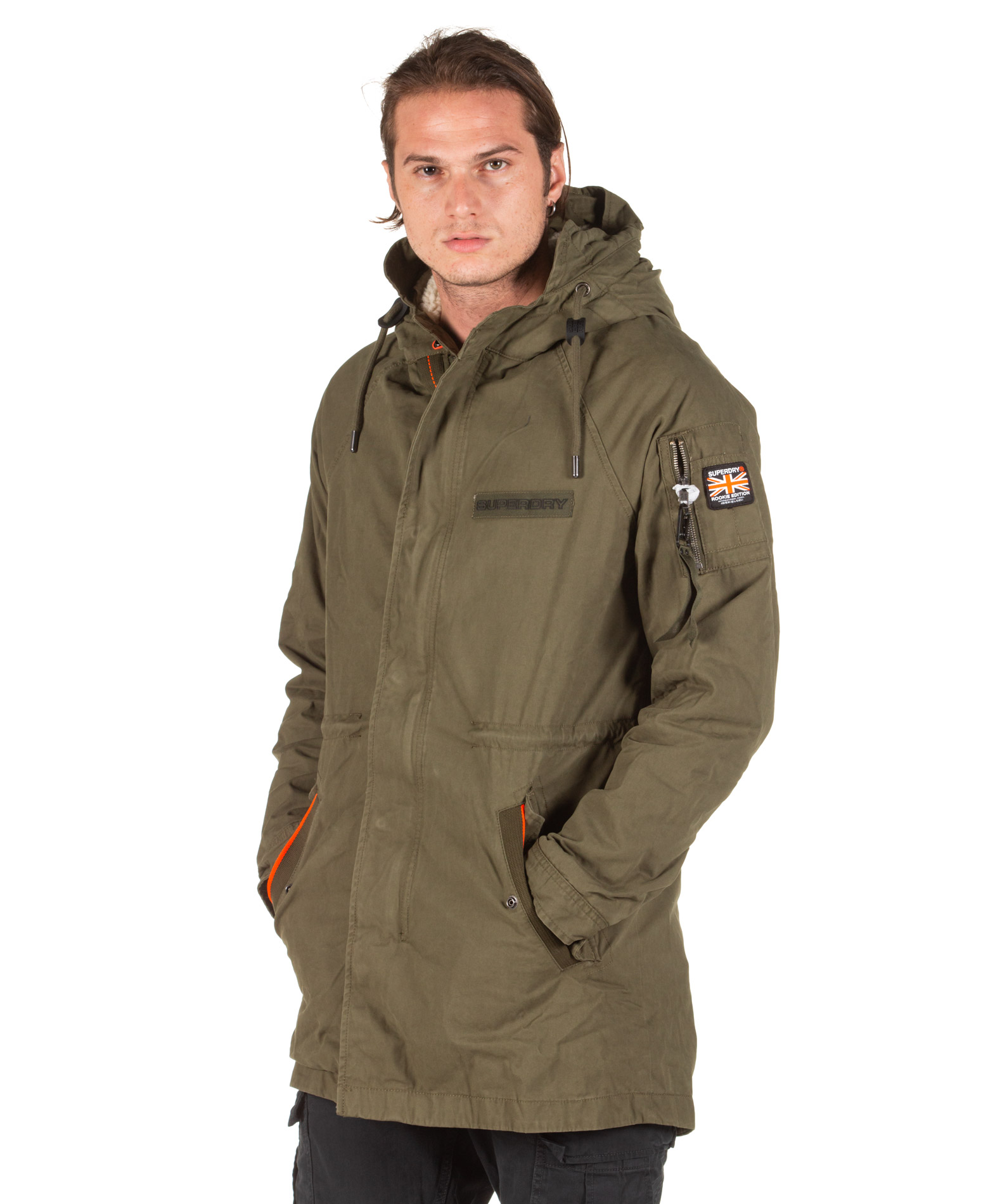 SUPERDRY WINTER AVIATOR PARKA M5000094A-S6Y Χακί